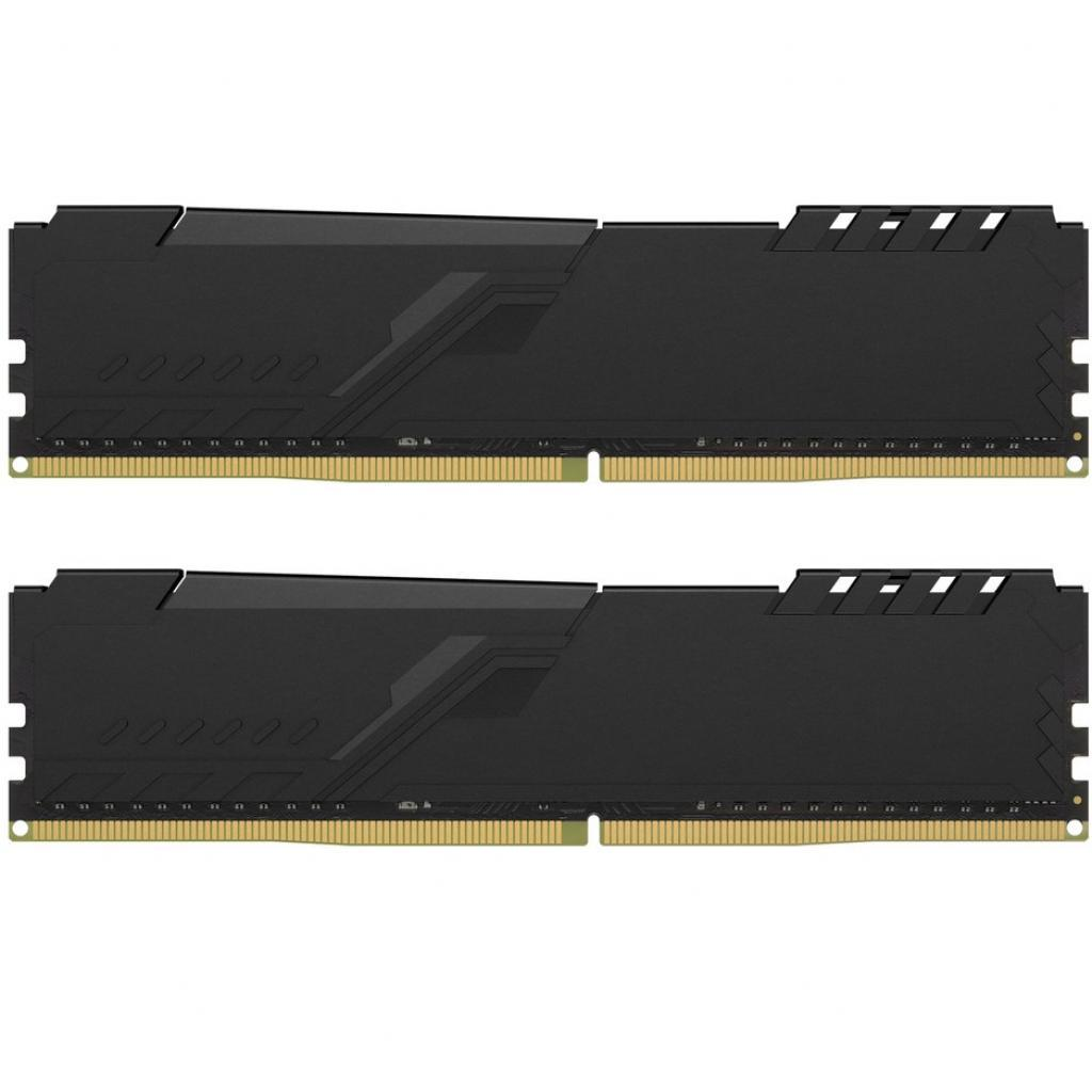 Модуль памяти для компьютера DDR4 8GB (2x4GB) 3200 MHz HyperX Fury Black HyperX (Kingston Fury) (HX432C16FB3K2/8) изображение 2