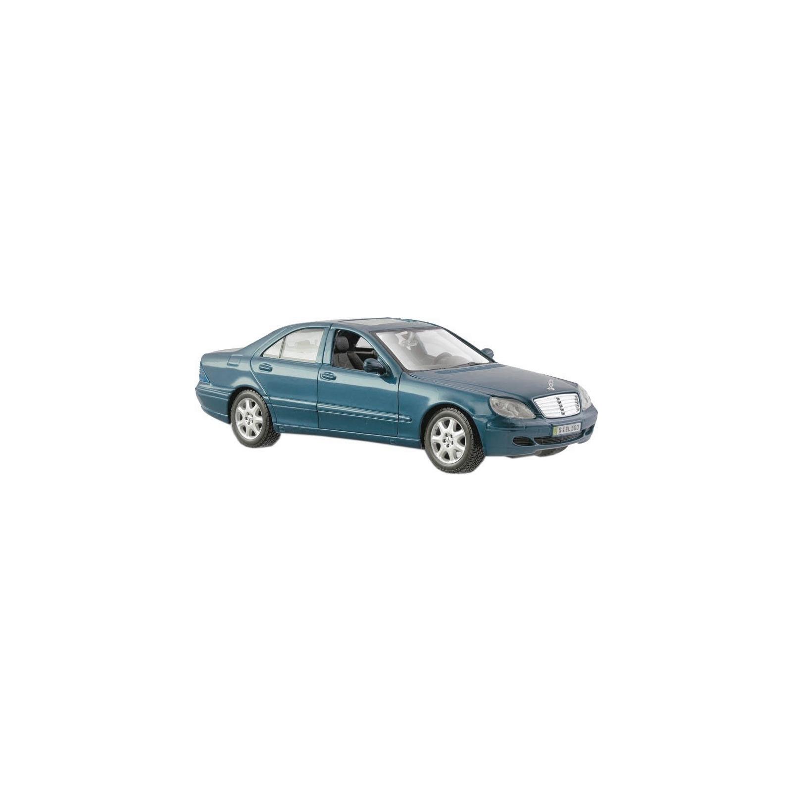 Машина Maisto Mercedes-Benz S-Class 2002 (1:26) серебристо-синий (31955 silver blue)
