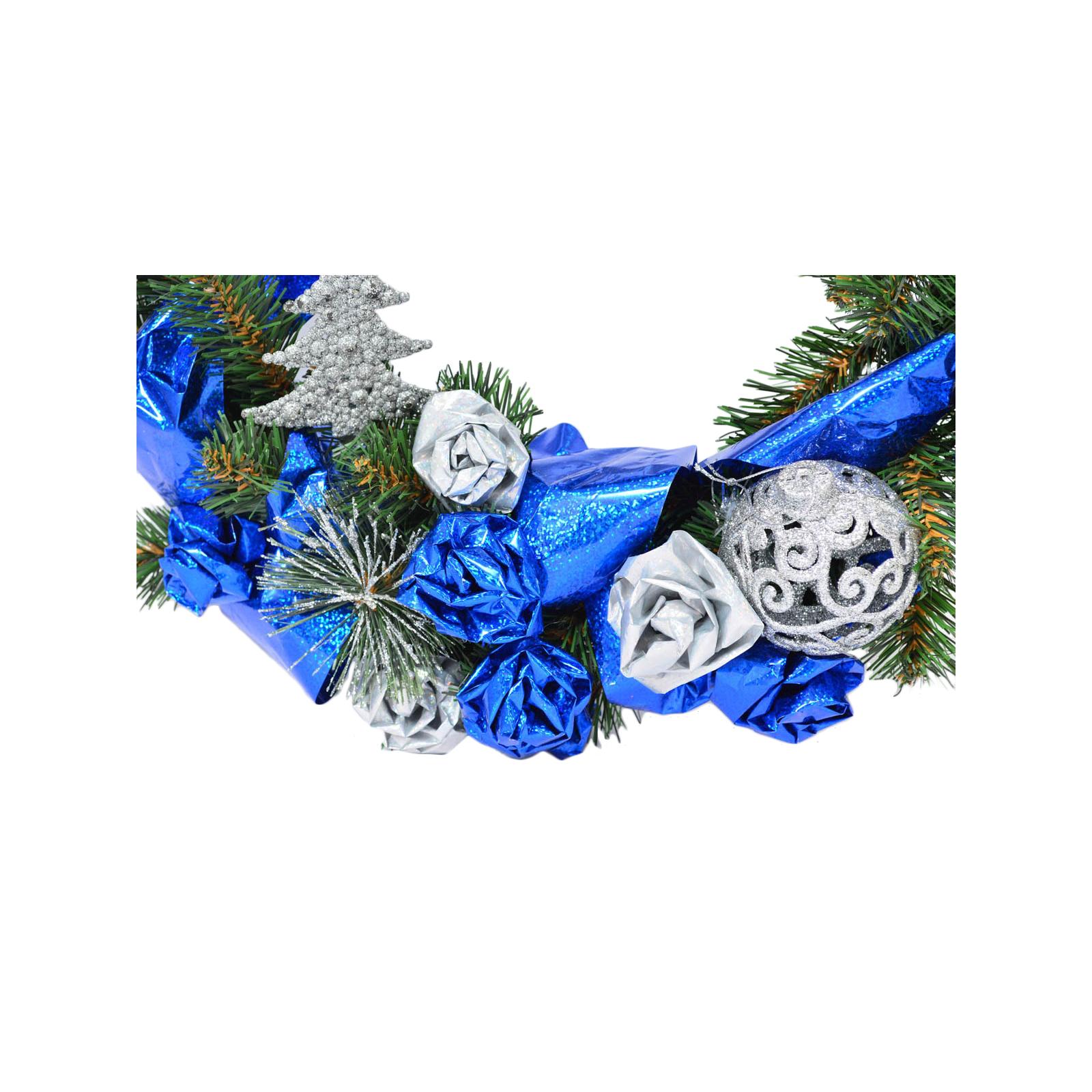 Украшение декоративное YES! Fun Венок с украшением Зимний винтаж 35 см (903729) изображение 2