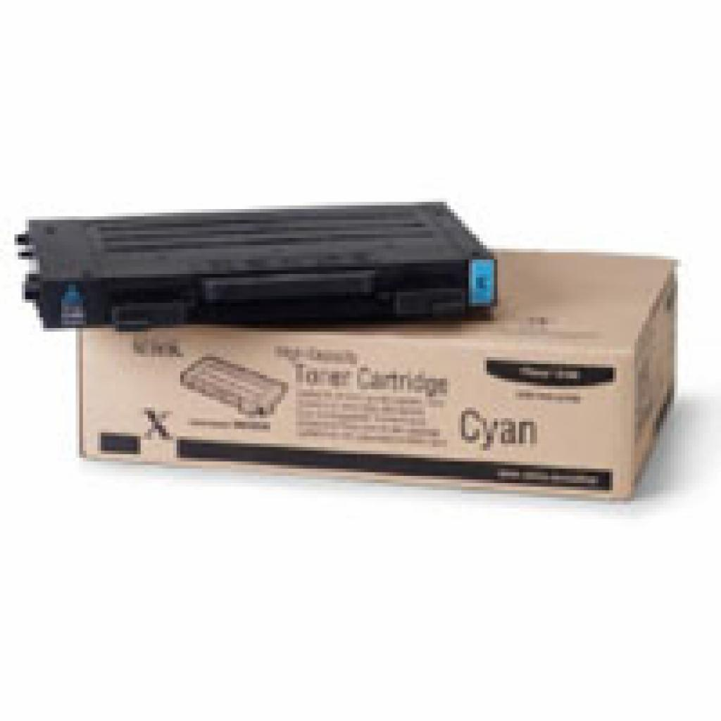 Тонер-картридж XEROX PH6100 (Max) Cyan (106R00680)