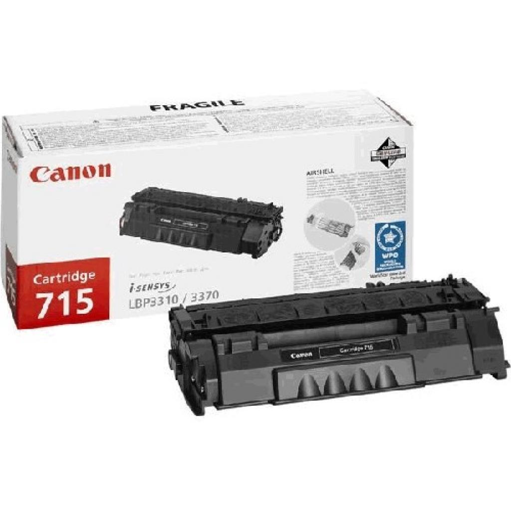 Картридж Canon 715H Black для LBP-3310/3370 (1976B002)
