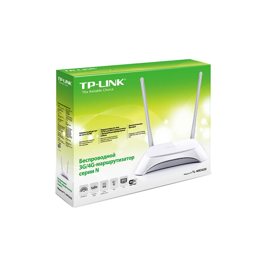 Маршрутизатор TP-Link TL-MR3420 изображение 6