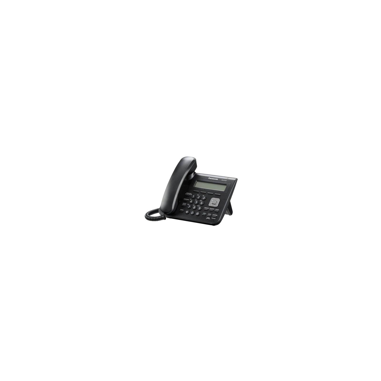 IP телефон PANASONIC KX-UT123RU-B