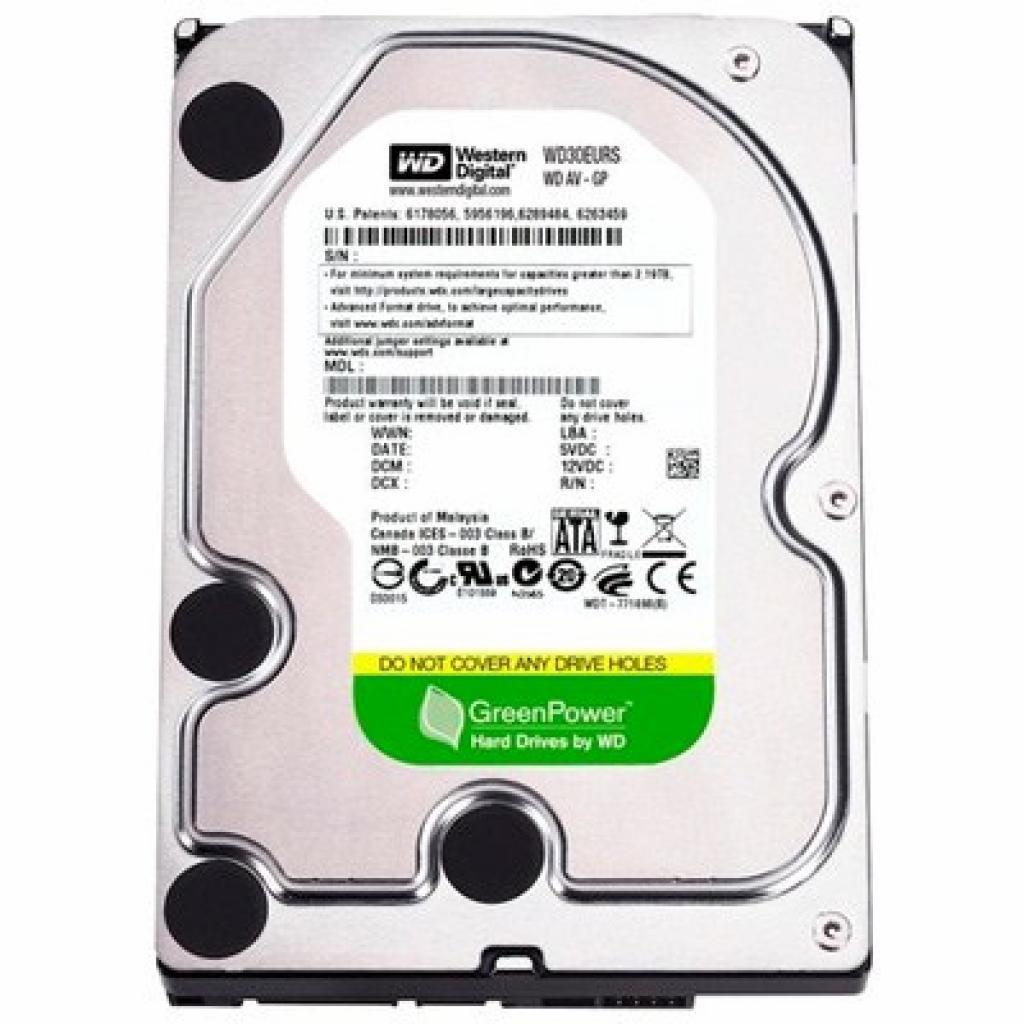 "Жесткий диск 3.5"" 3TB Western Digital (WD30EURS)"
