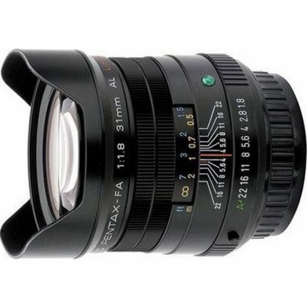 Объектив Pentax SMC FA 31mm f/1.8 AL limited black (20290)