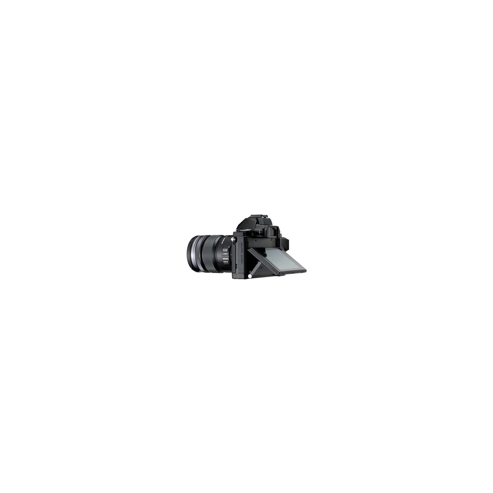 Цифровой фотоаппарат OLYMPUS OM-D E-M5 12-50 kit black/black (V204045BE000) изображение 4