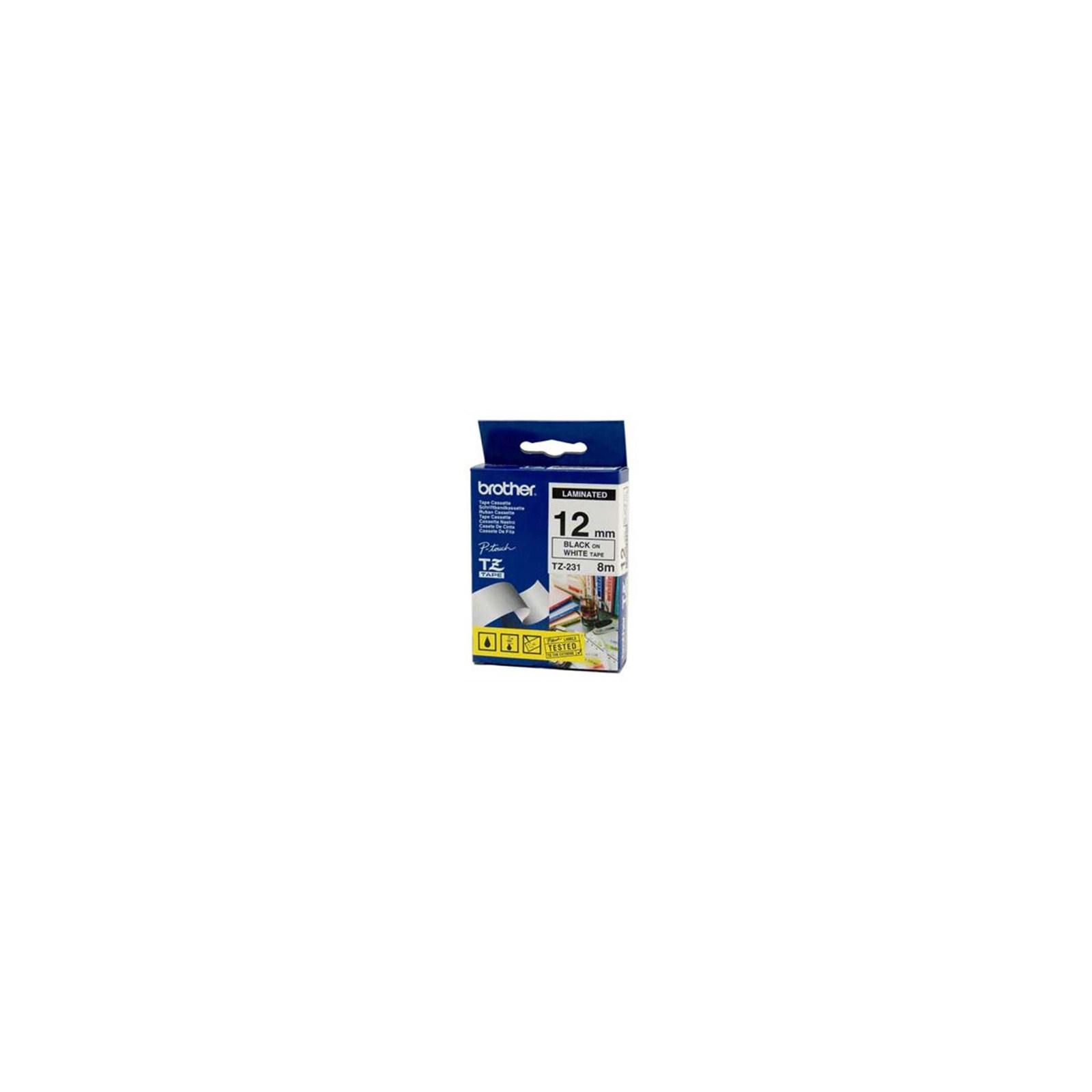 Лента для принтера этикеток Brother TZE231S
