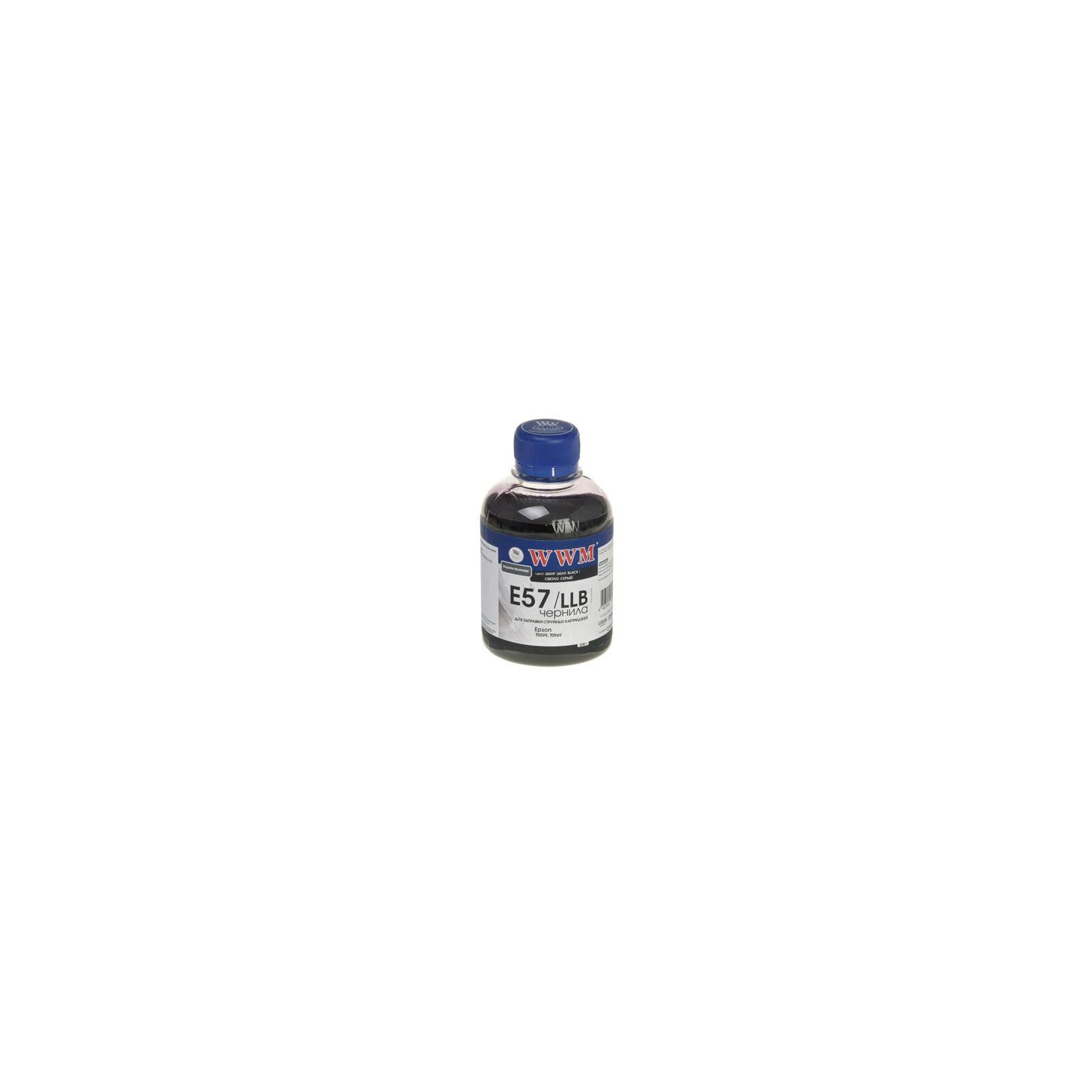Чернила WWM EPSON R2400/2880Light Light Black (E57/LLB)