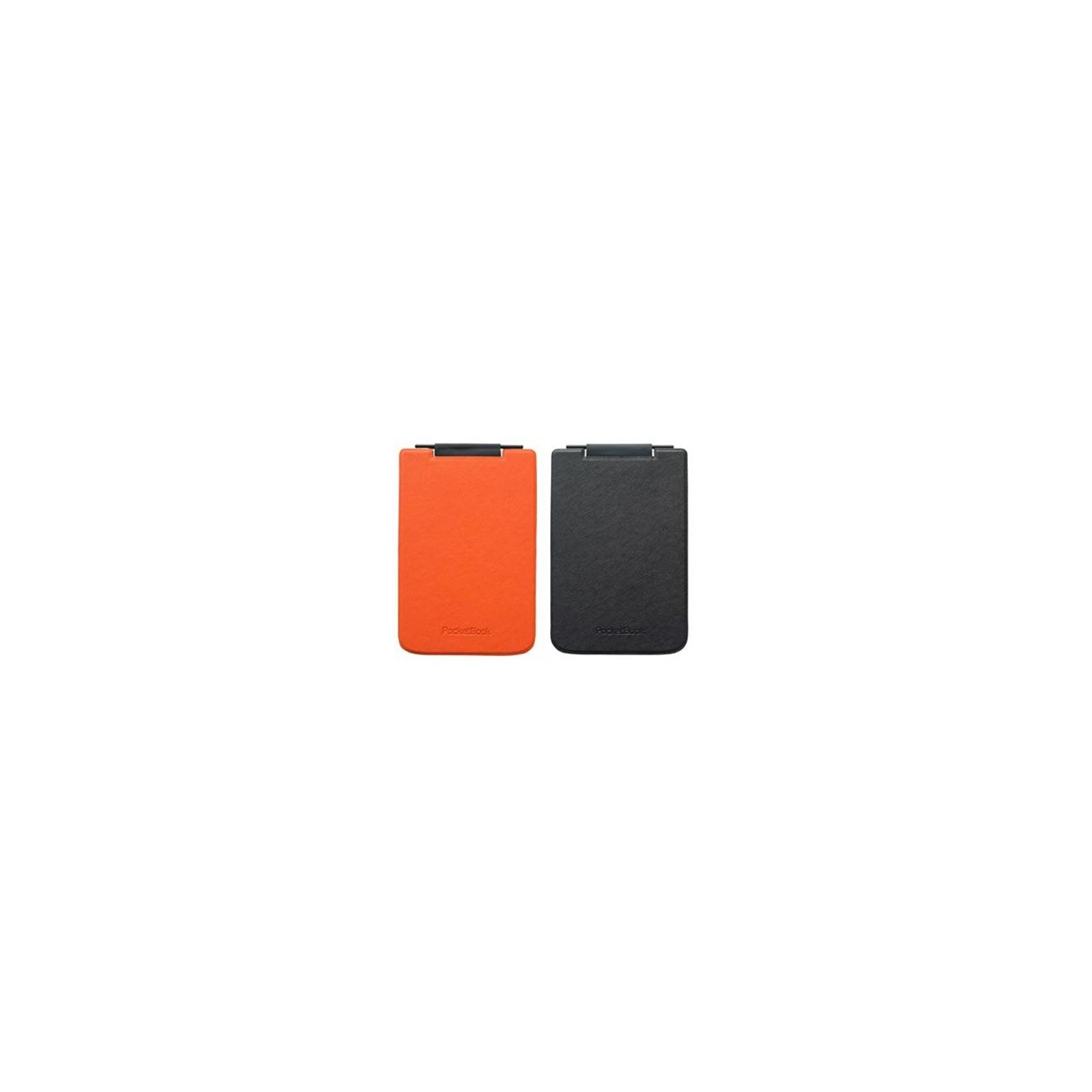 Чехол для электронной книги PocketBook PB624 Flip orange/black (PBPUC-624-ORBC-RD) изображение 2