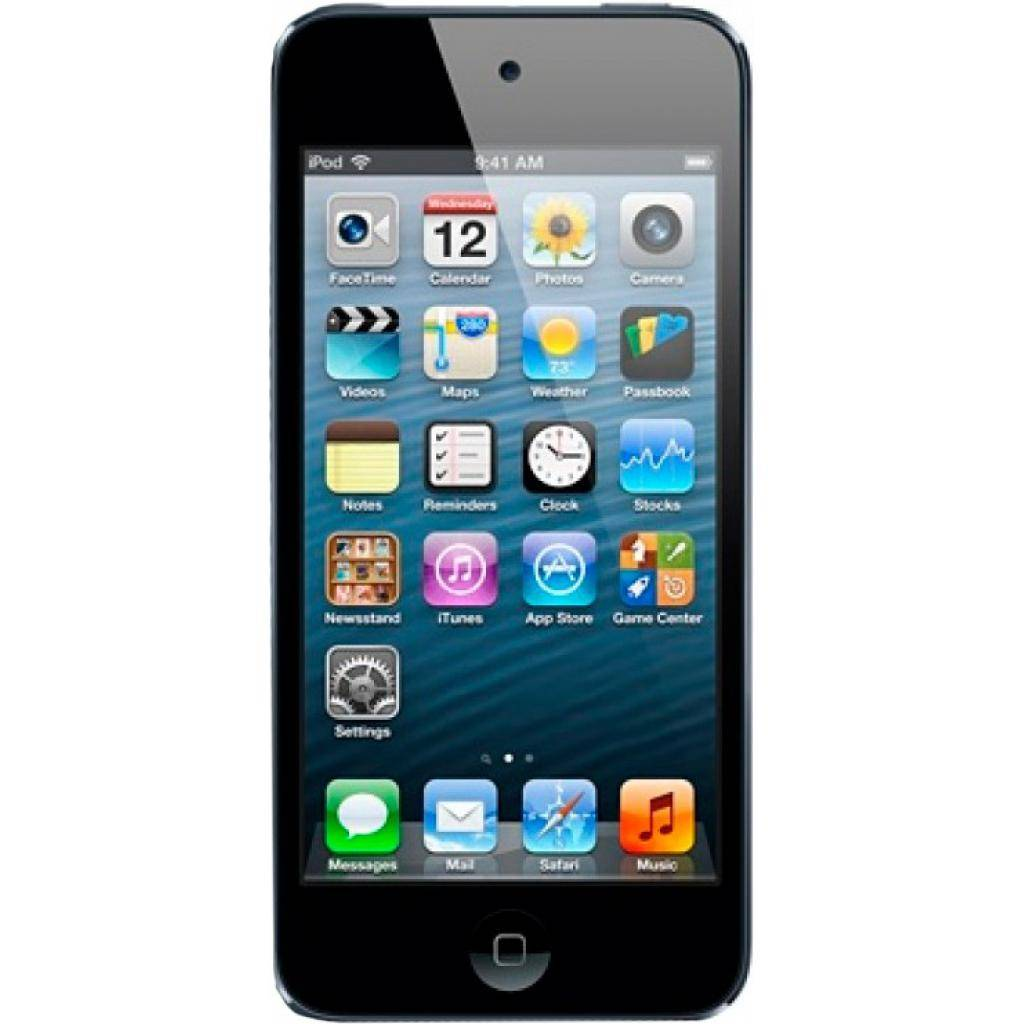 mp3 плеер Apple iPod Touch 64GB Space Gray (5Gen) (ME979RP/A) изображение 2