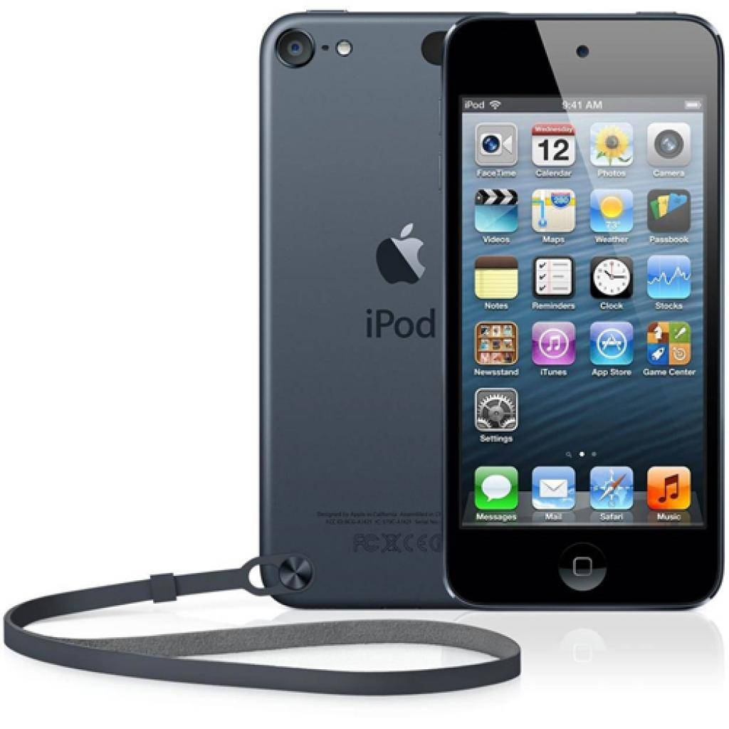 mp3 плеер Apple iPod Touch 64GB Space Gray (5Gen) (ME979RP/A)