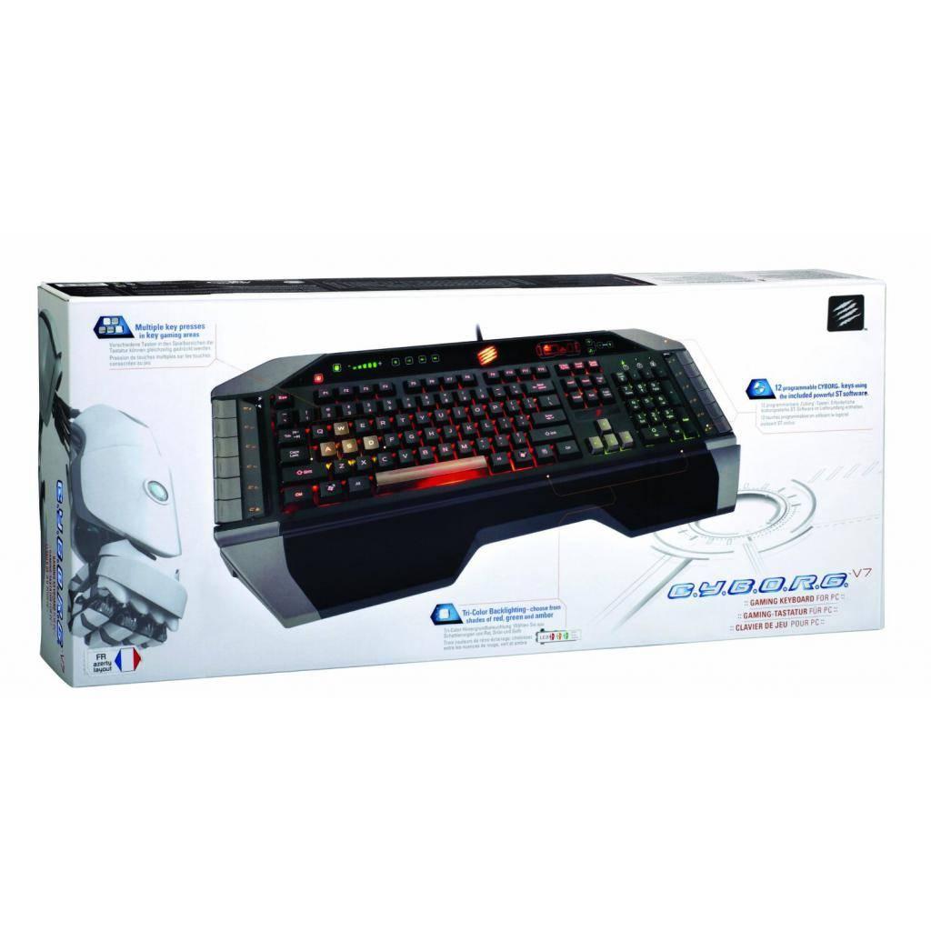 Клавиатура MadCatz V.7 (MCB43107N0B2/04/1) изображение 3
