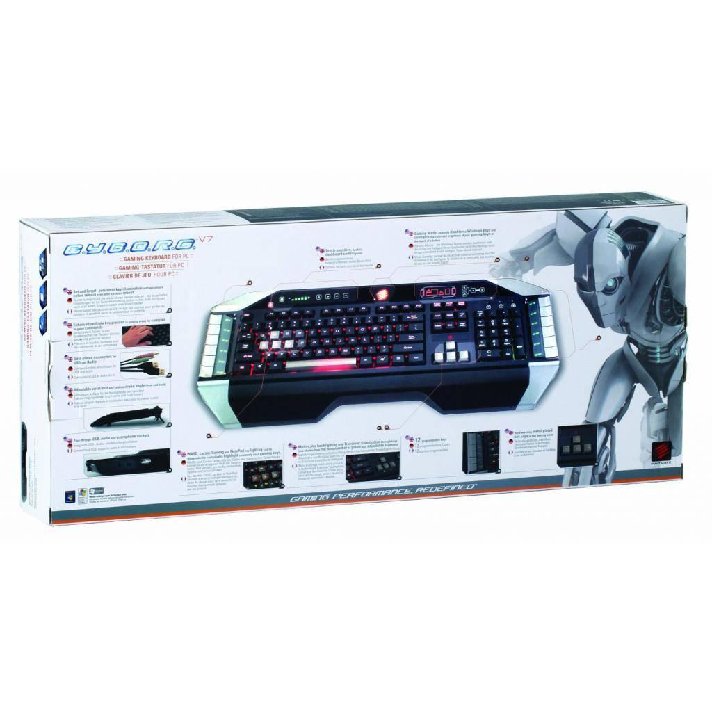 Клавиатура MadCatz V.7 (MCB43107N0B2/04/1) изображение 4