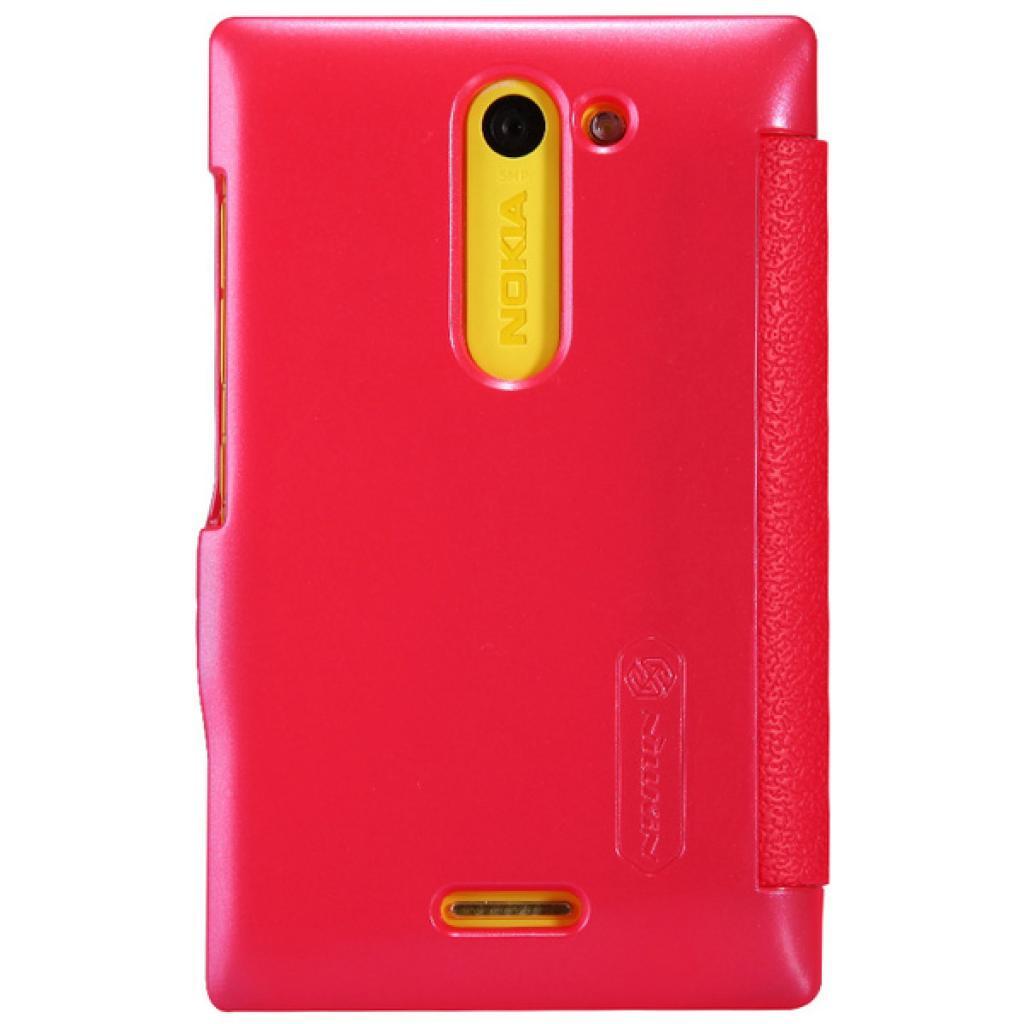 Чехол для моб. телефона NILLKIN для Nokia 502 /Fresh/ Leather/Red (6120393) изображение 2