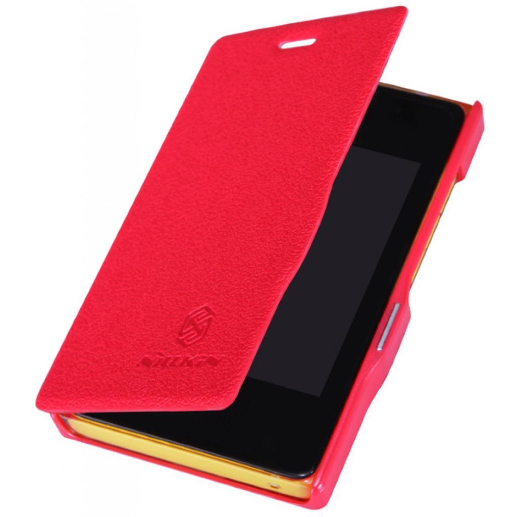 Чехол для моб. телефона NILLKIN для Nokia 502 /Fresh/ Leather/Red (6120393) изображение 3