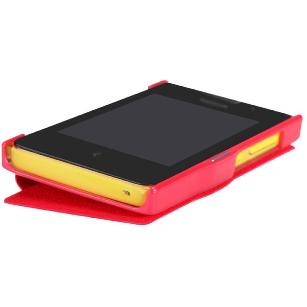 Чехол для моб. телефона NILLKIN для Nokia 502 /Fresh/ Leather/Red (6120393) изображение 4