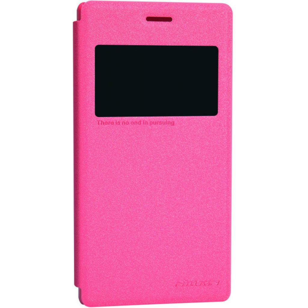 Чехол для моб. телефона NILLKIN для Sony Xperia M2 /Spark/ Leather/Red (6147170) изображение 2