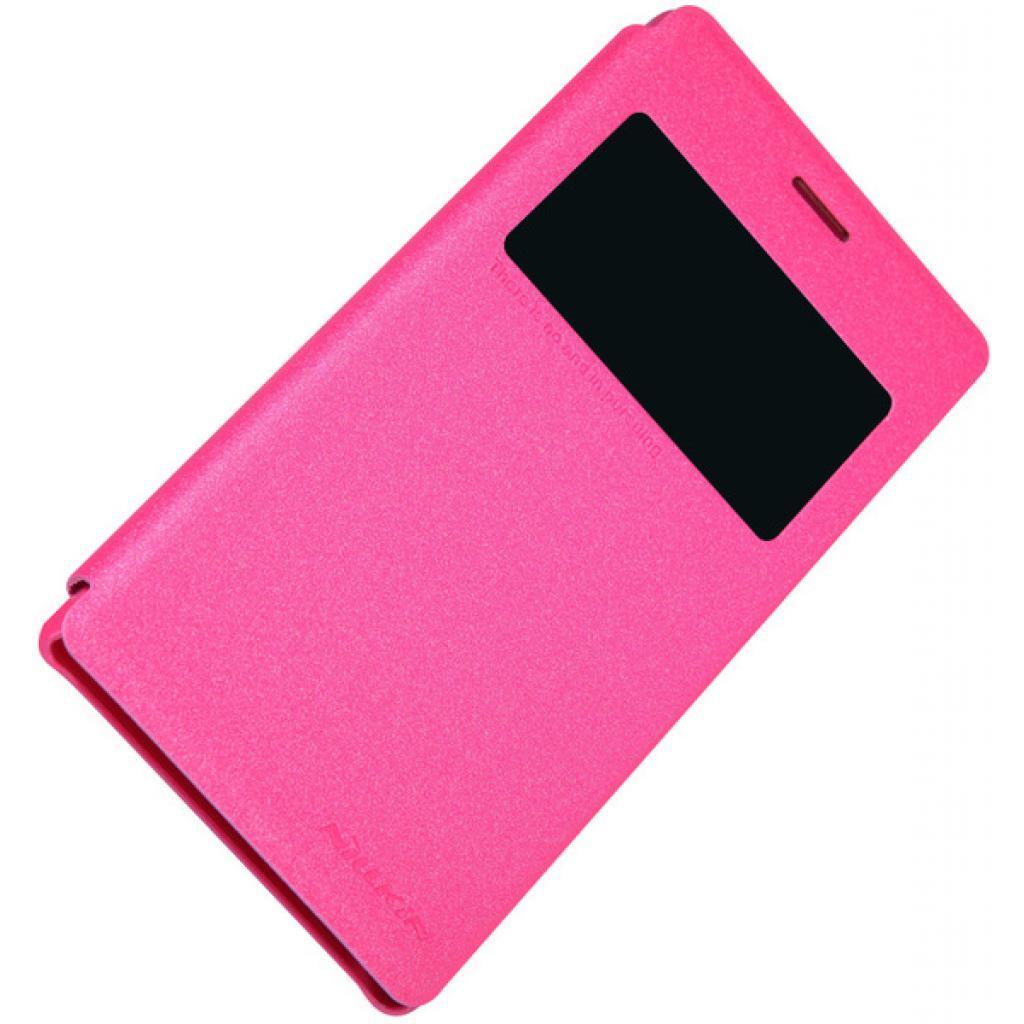 Чехол для моб. телефона NILLKIN для Sony Xperia M2 /Spark/ Leather/Red (6147170) изображение 3