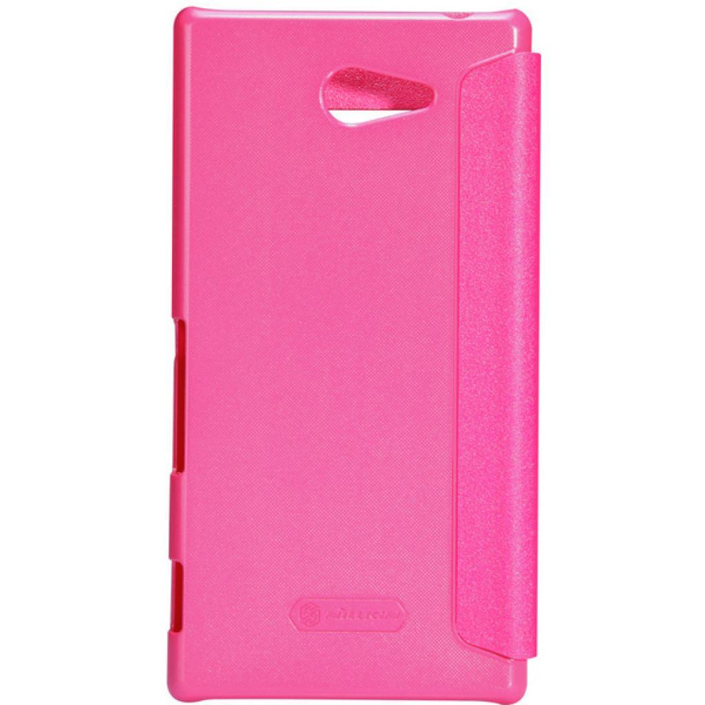 Чехол для моб. телефона NILLKIN для Sony Xperia M2 /Spark/ Leather/Red (6147170) изображение 4