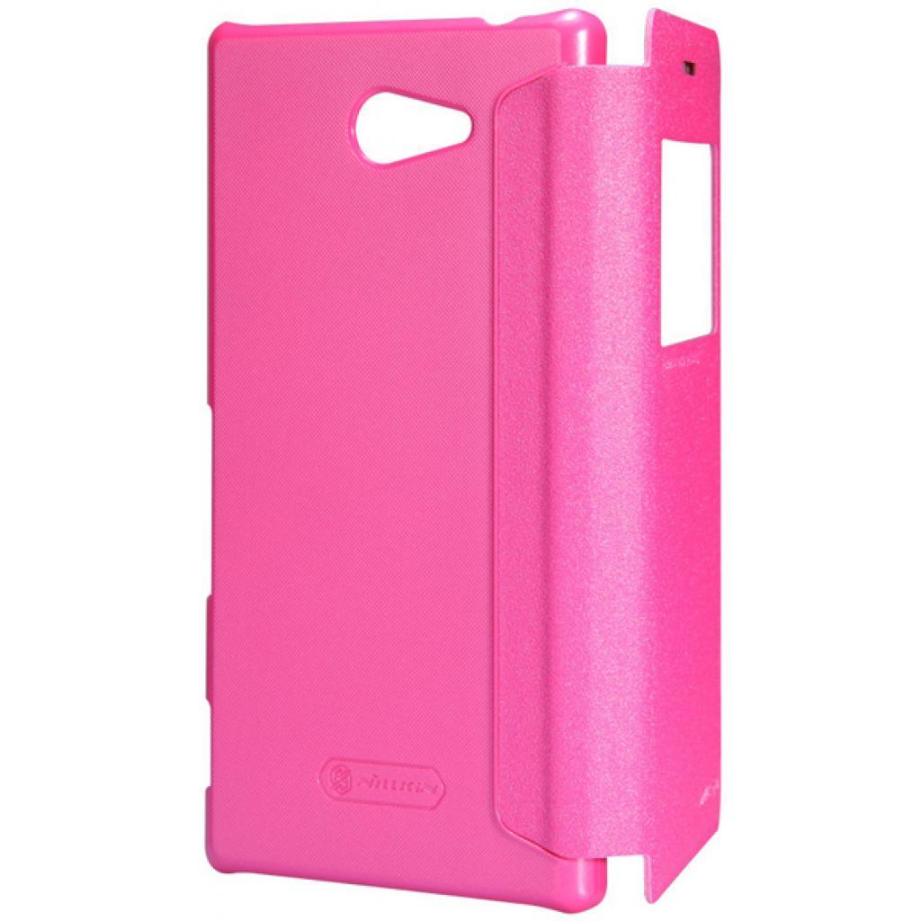 Чехол для моб. телефона NILLKIN для Sony Xperia M2 /Spark/ Leather/Red (6147170) изображение 5