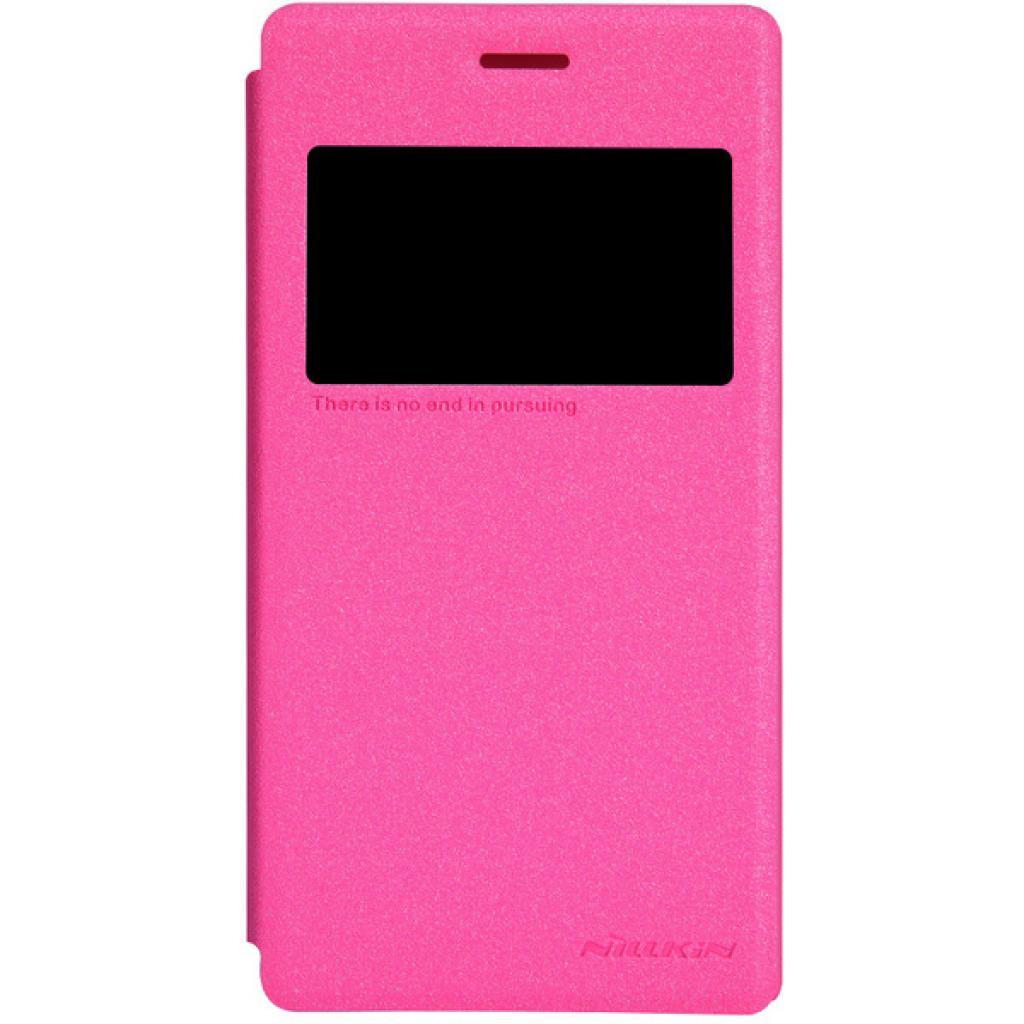 Чехол для моб. телефона NILLKIN для Sony Xperia M2 /Spark/ Leather/Red (6147170)