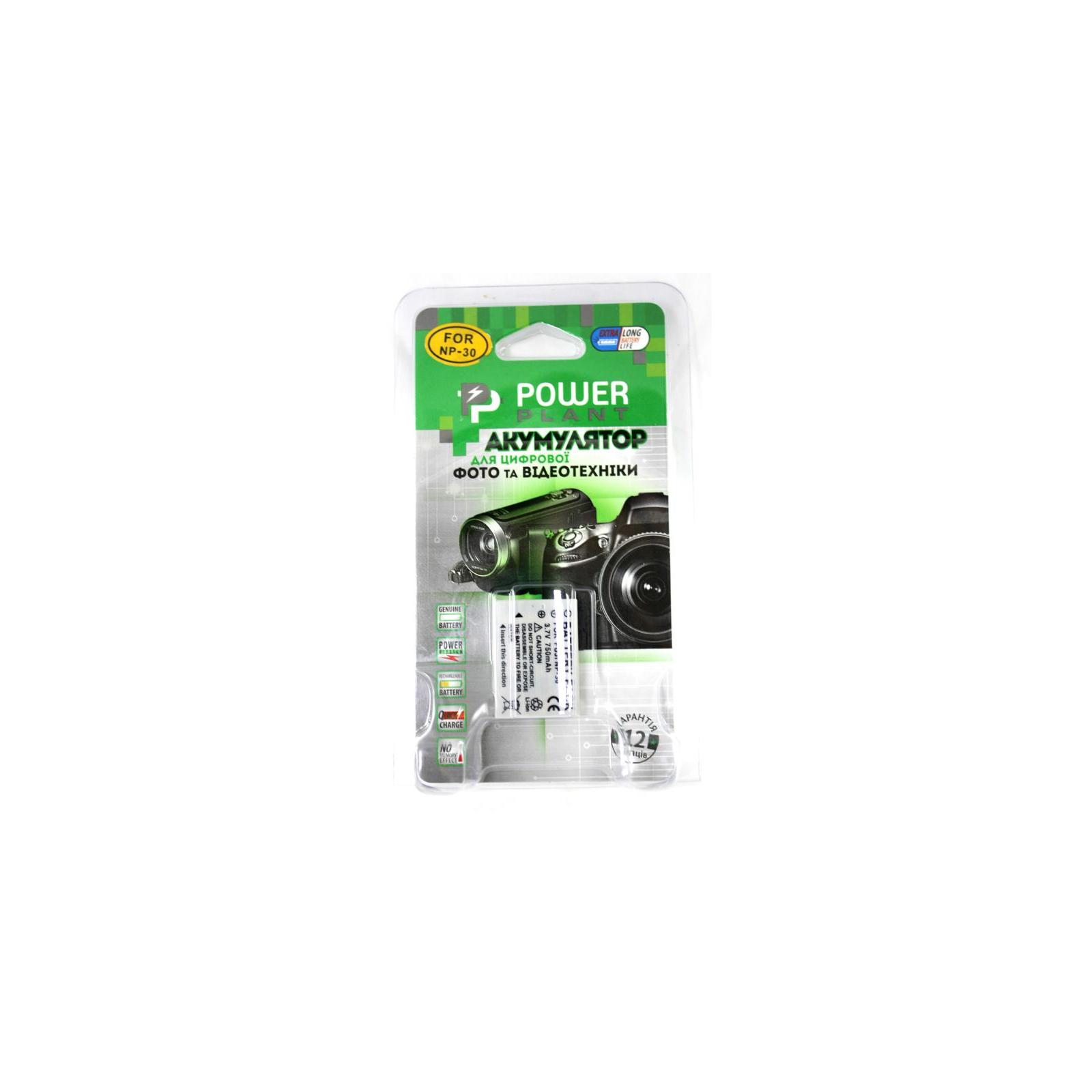 Аккумулятор к фото/видео PowerPlant Fuji NP-30 (DV00DV1045) изображение 3