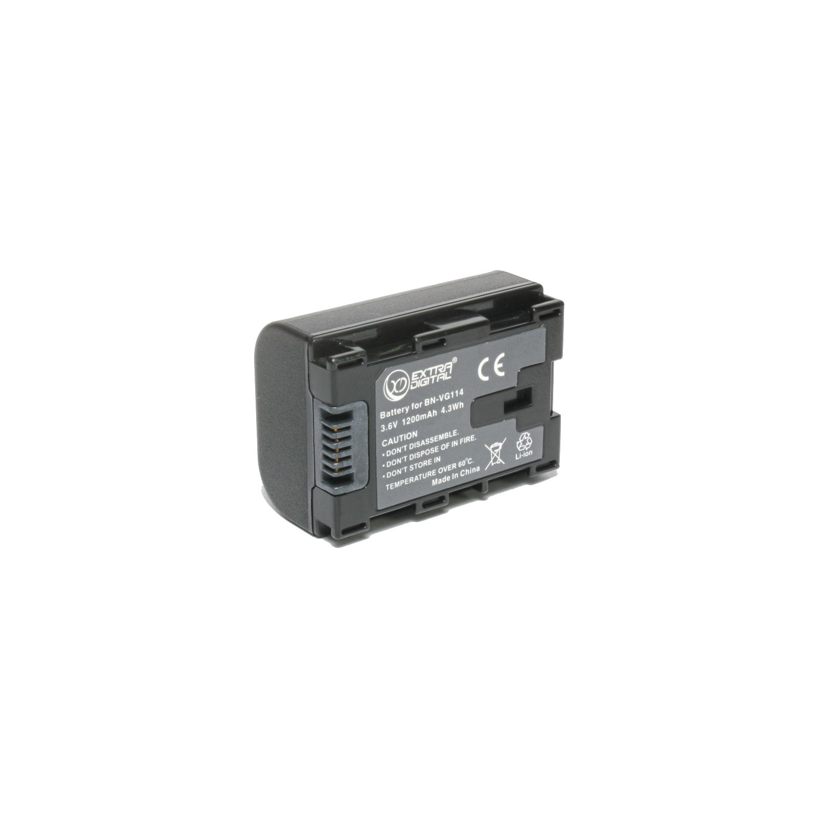 Аккумулятор к фото/видео EXTRADIGITAL JVC BN-VG114 (chip) (BDJ1310) изображение 3