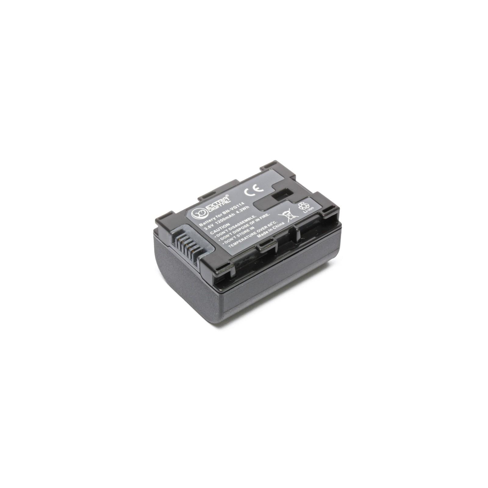 Аккумулятор к фото/видео EXTRADIGITAL JVC BN-VG114 (chip) (BDJ1310) изображение 4