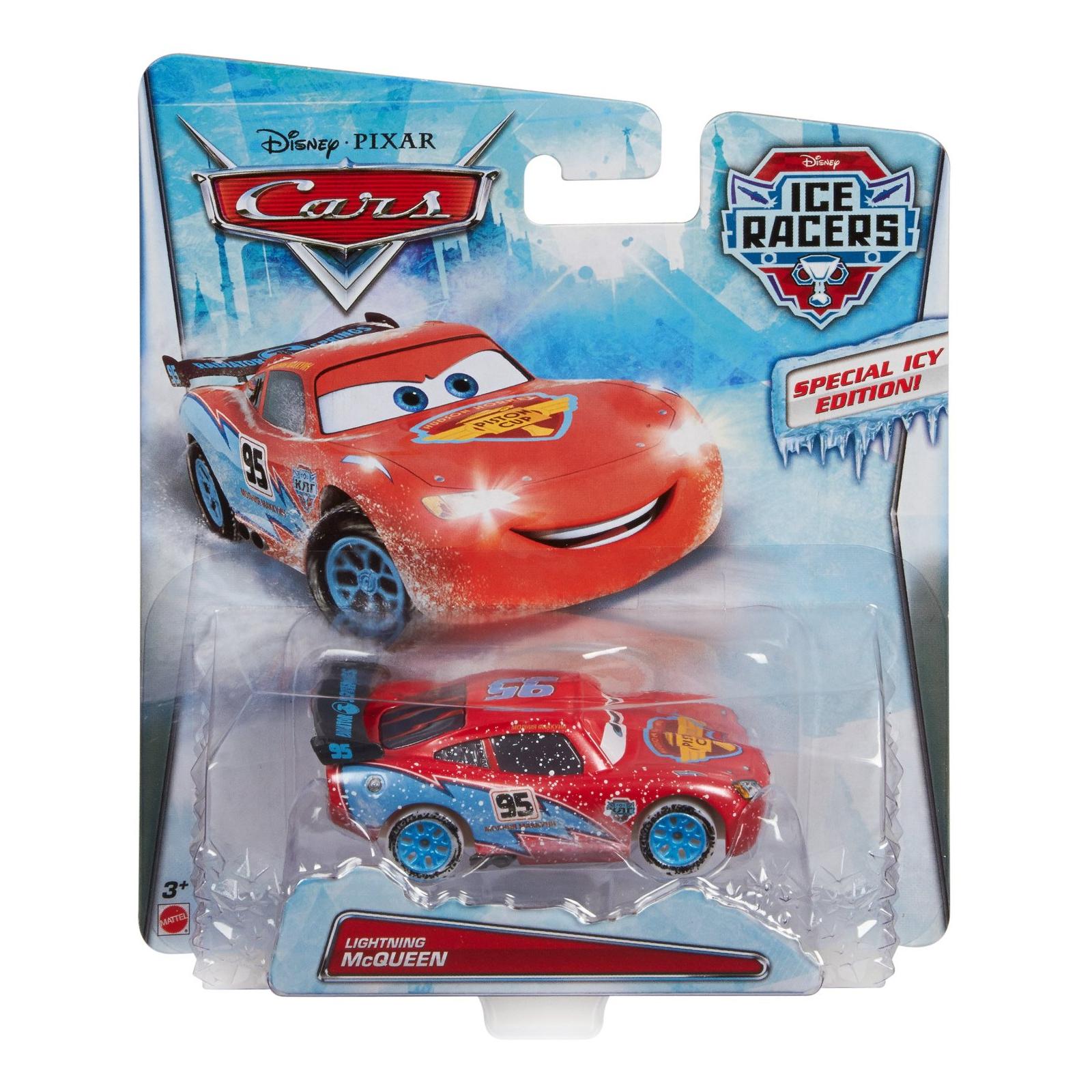 Машина Mattel из м/ф Тачки Гонки на льду Молния Маккуин (CDR25-2)