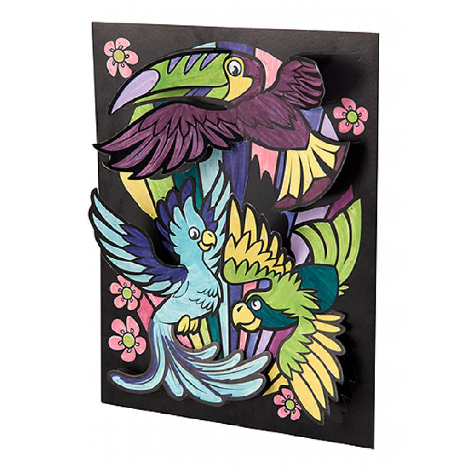 Набор для творчества Melissa&Doug 3D раскраска Животные (MD5283) изображение 2