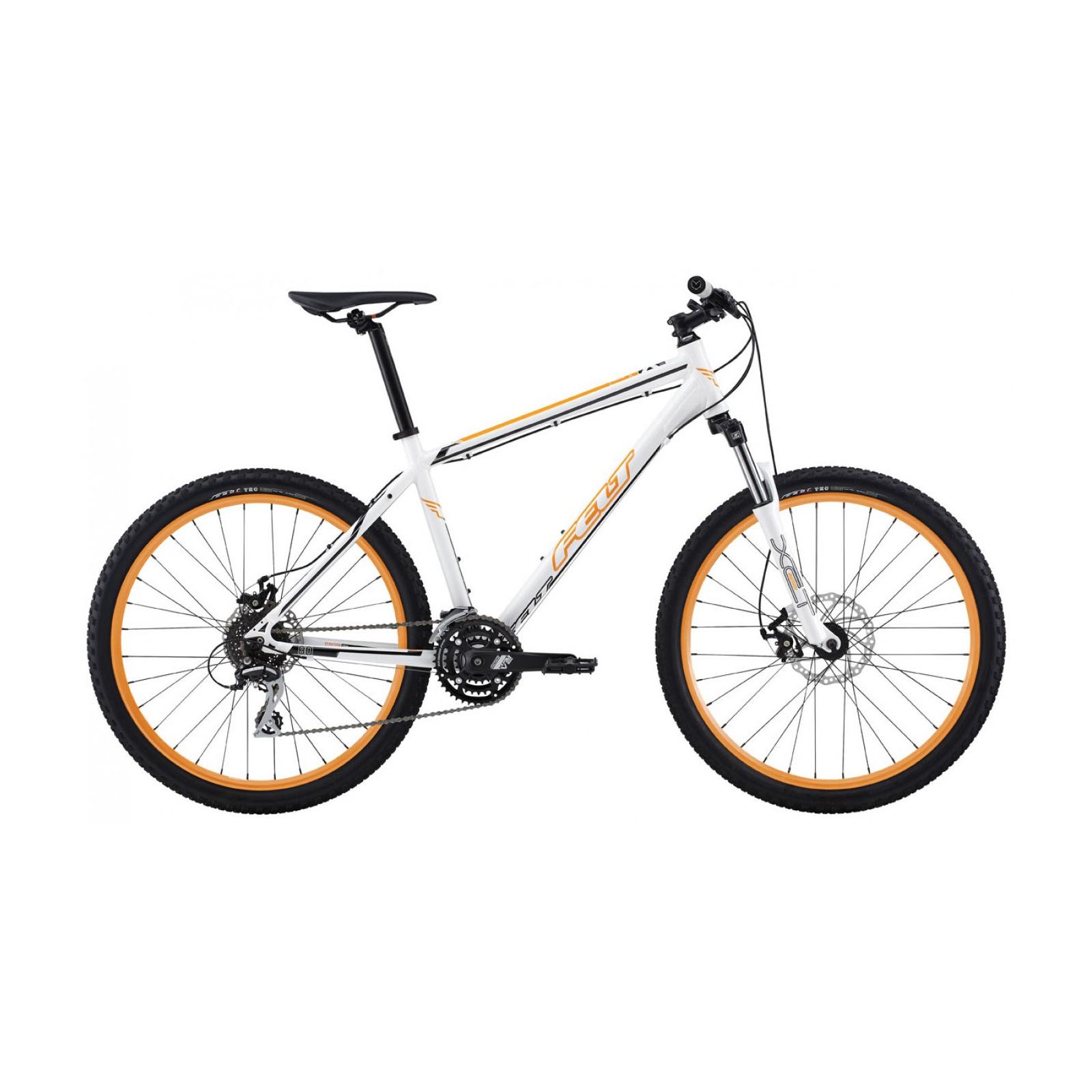 "Велосипед Felt MTB SIX 80 M white (black/orange) 18"" (8044 06602)"