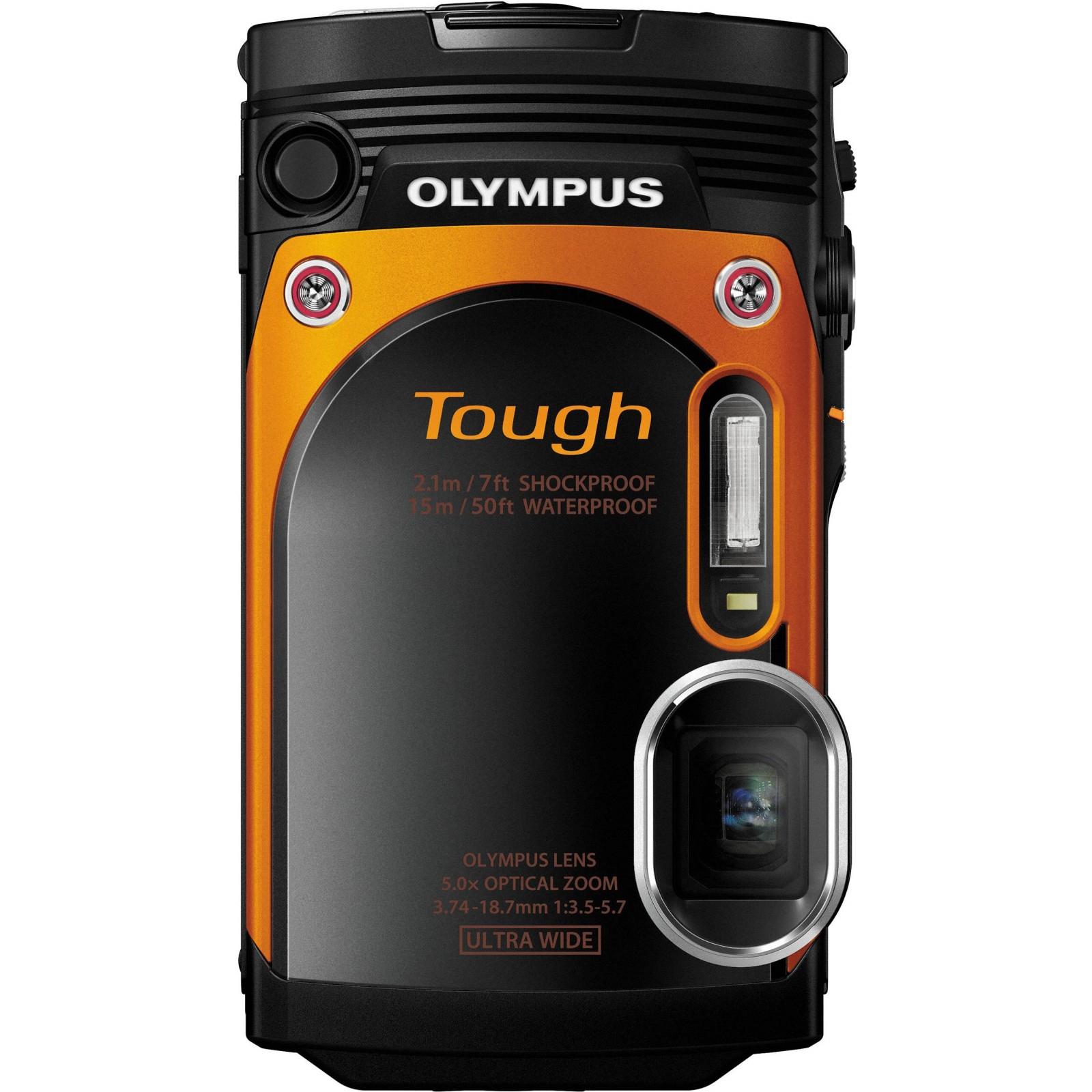 Цифровой фотоаппарат OLYMPUS TG-860 Orange (Waterproof - 15m; iHS; Wi-Fi) (V104170OE000) изображение 11
