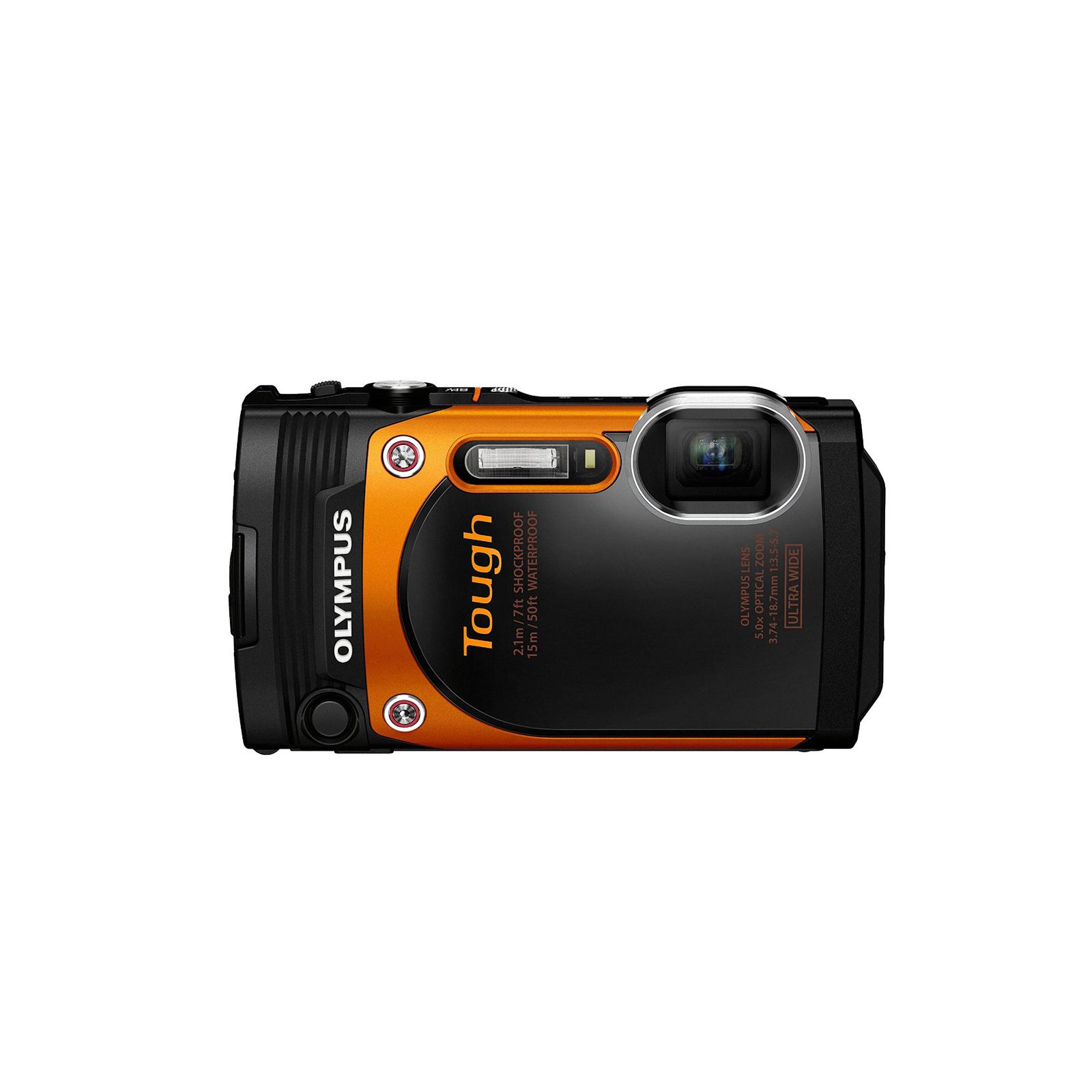 Цифровой фотоаппарат OLYMPUS TG-860 Orange (Waterproof - 15m; iHS; Wi-Fi) (V104170OE000) изображение 2