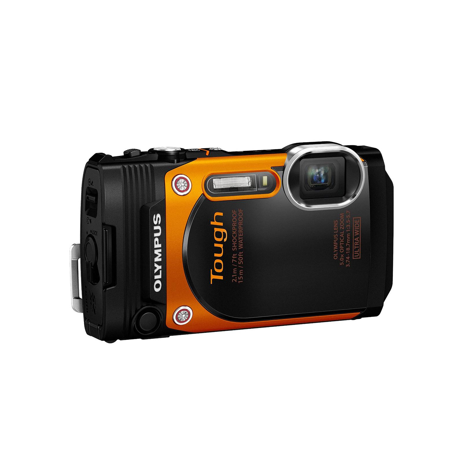 Цифровой фотоаппарат OLYMPUS TG-860 Orange (Waterproof - 15m; iHS; Wi-Fi) (V104170OE000) изображение 3