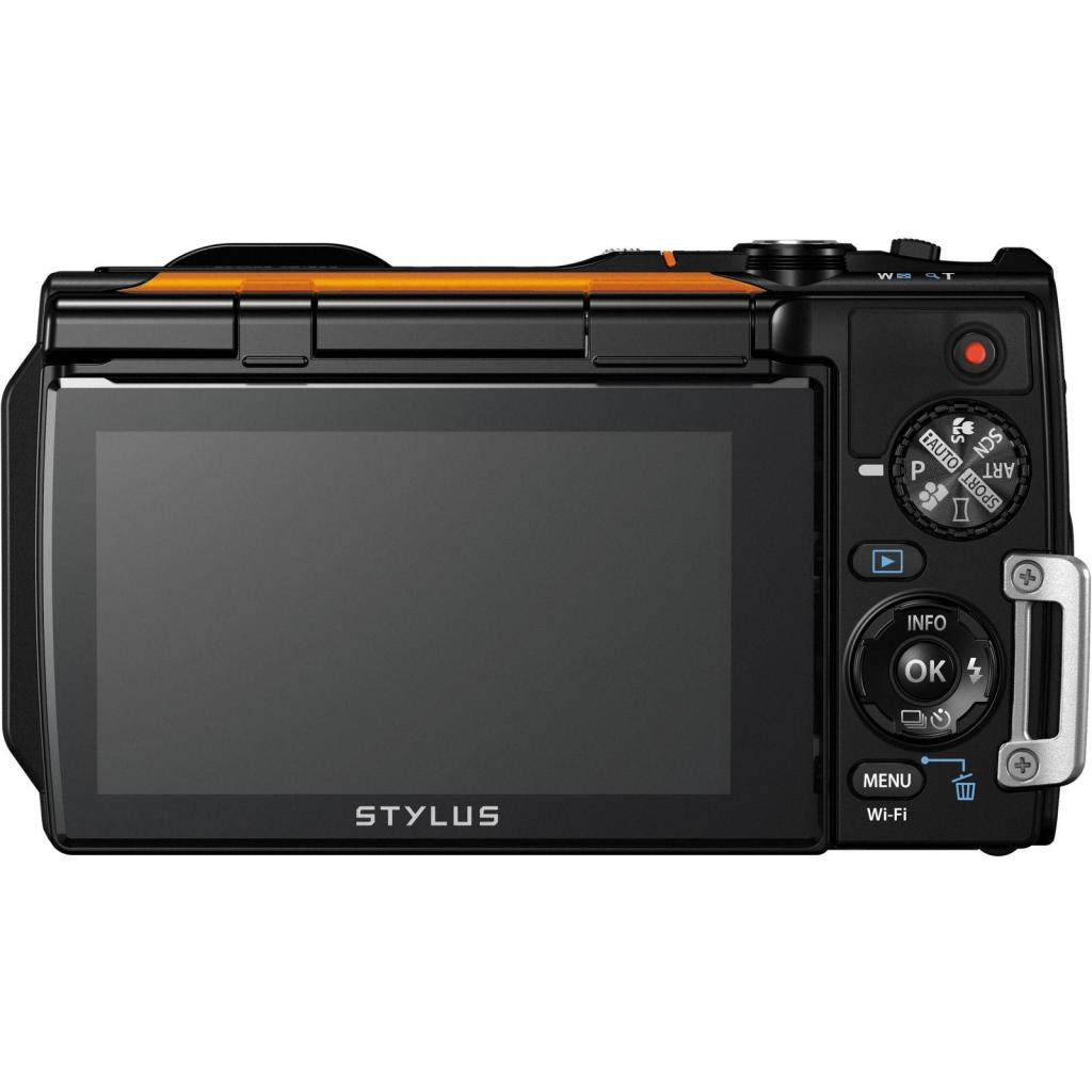 Цифровой фотоаппарат OLYMPUS TG-860 Orange (Waterproof - 15m; iHS; Wi-Fi) (V104170OE000) изображение 4