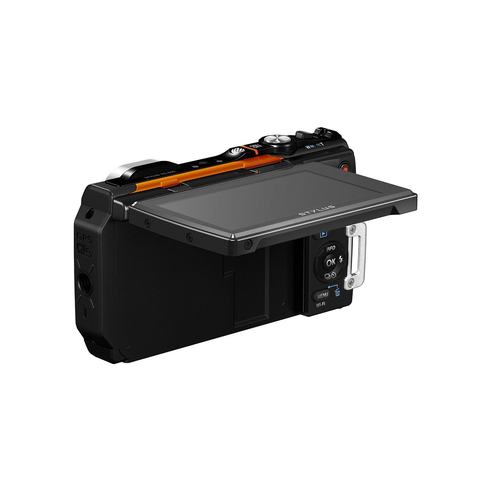 Цифровой фотоаппарат OLYMPUS TG-860 Orange (Waterproof - 15m; iHS; Wi-Fi) (V104170OE000) изображение 6