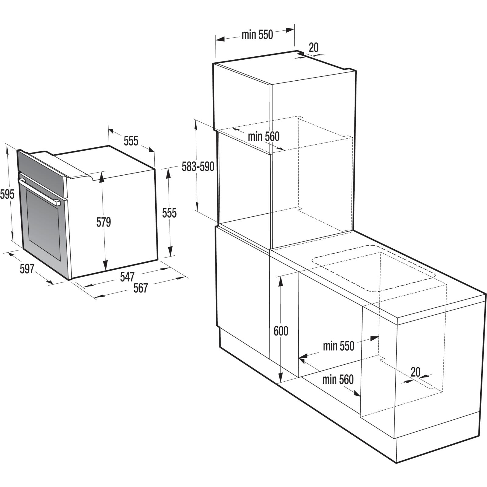Духовой шкаф Gorenje BO 635 E20XG-M изображение 2