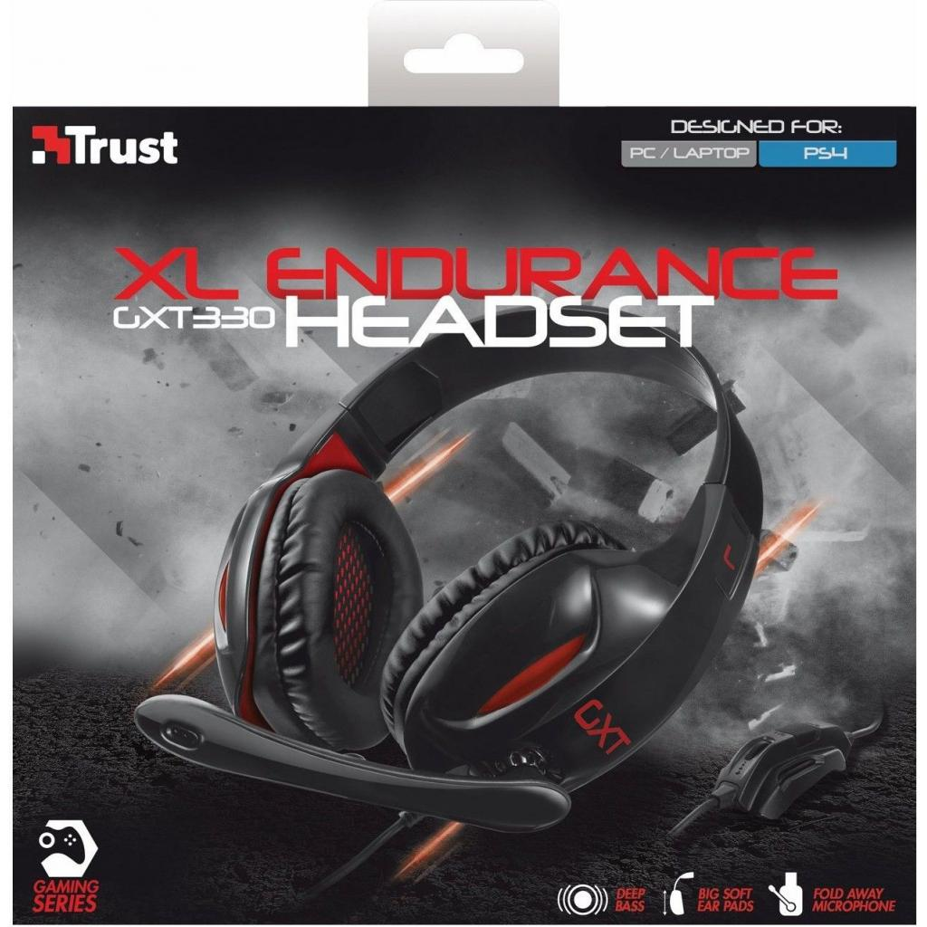 Наушники Trust GXT 330 XL Endurance Headset (19999) изображение 5