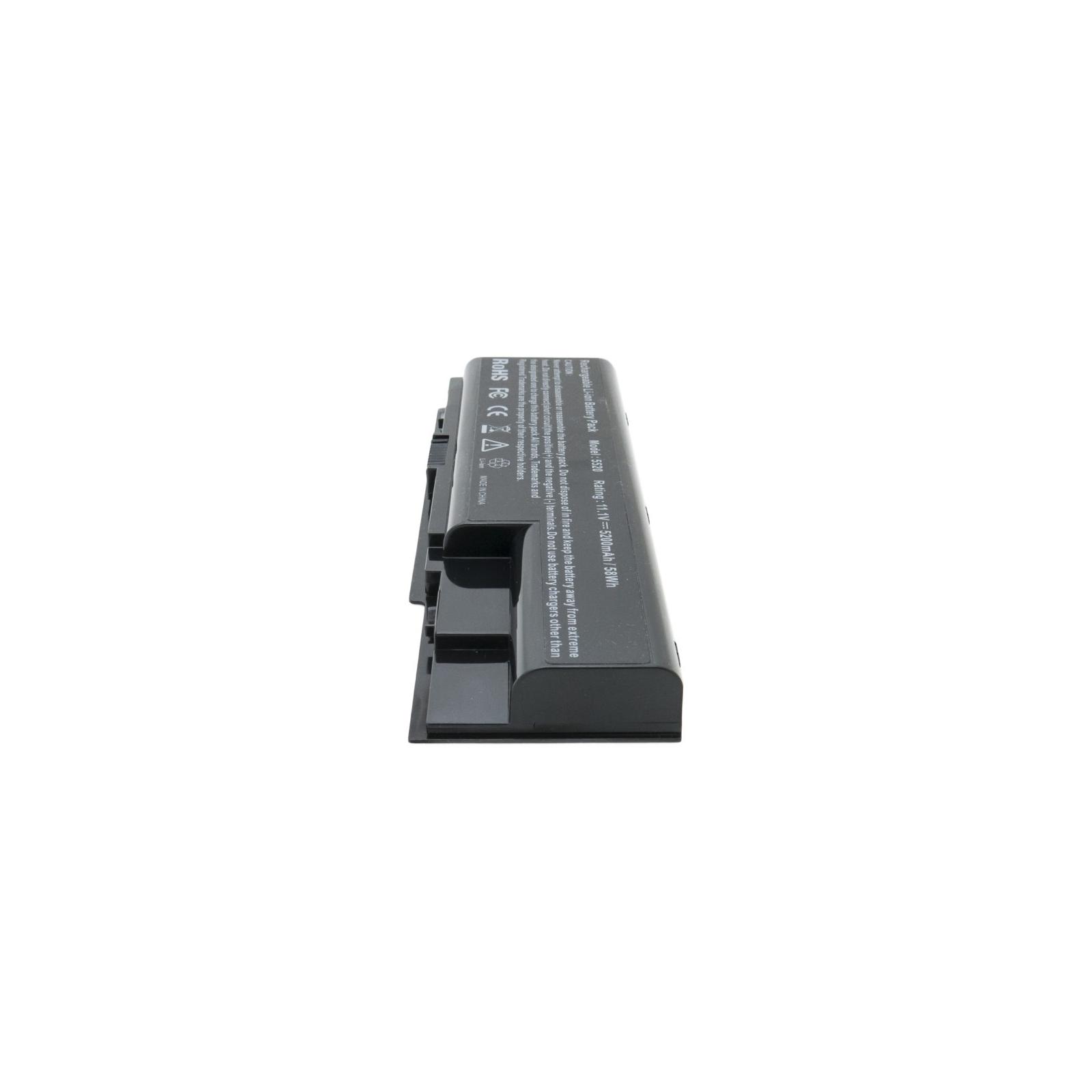 Аккумулятор для ноутбука Acer Aspire 5520 (AS07B31) 5200 mAh EXTRADIGITAL (BNA3911) изображение 5