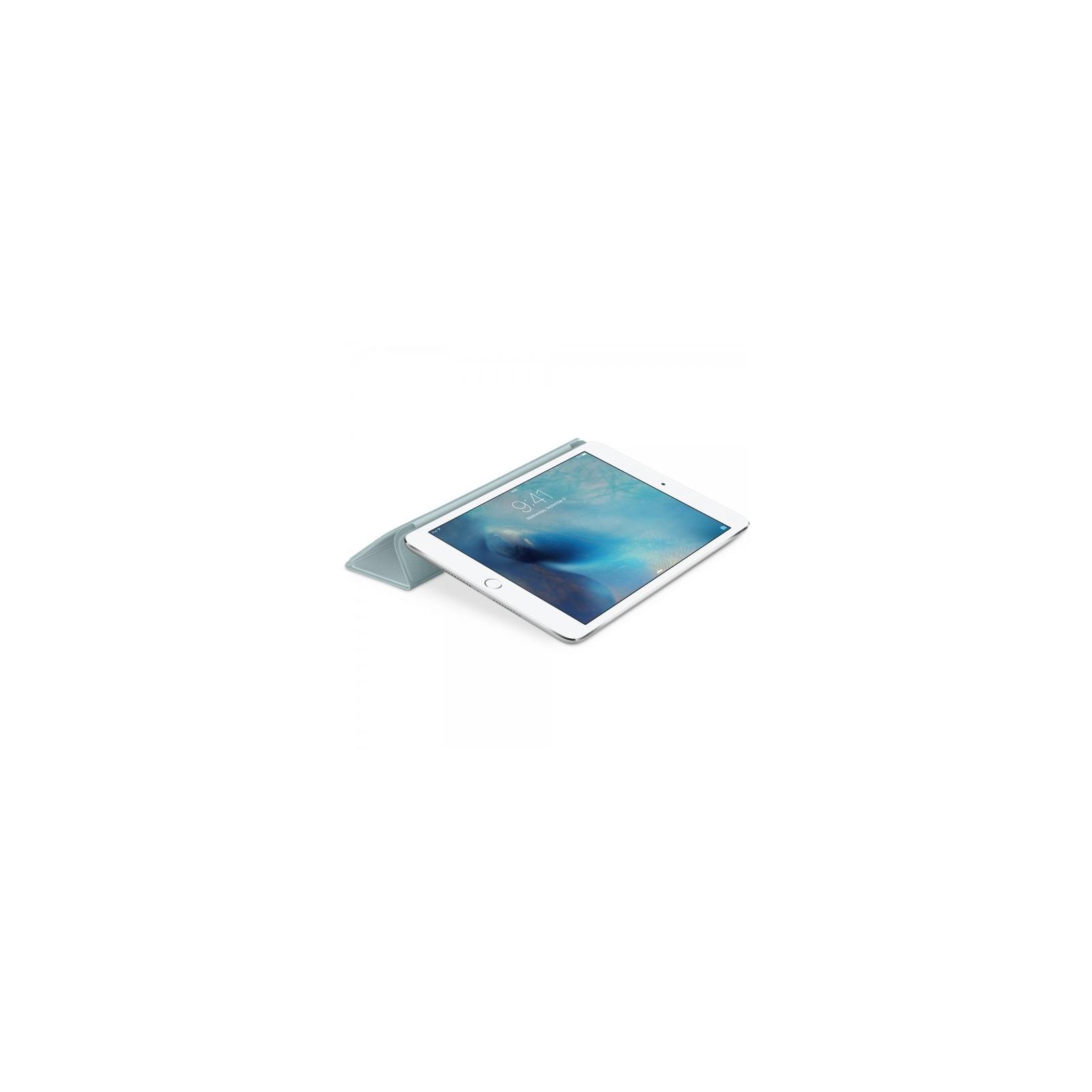 Чехол для планшета Apple Smart Cover для iPad mini 4 Turquoise (MKM52ZM/A) изображение 4