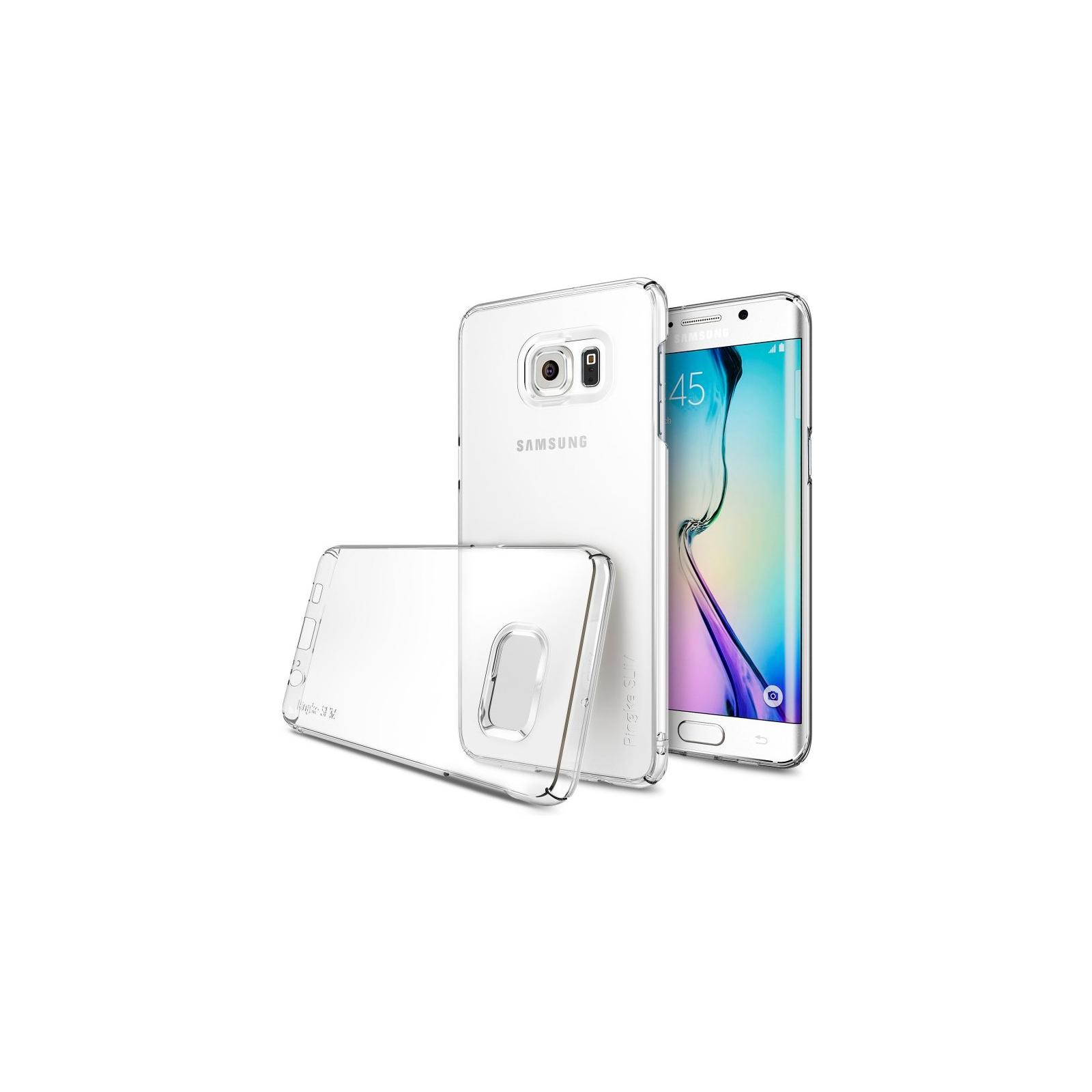 Чехол для моб. телефона Ringke Fusion для Samsung Galaxy S6 Edge Plus (Crystal) (170888)