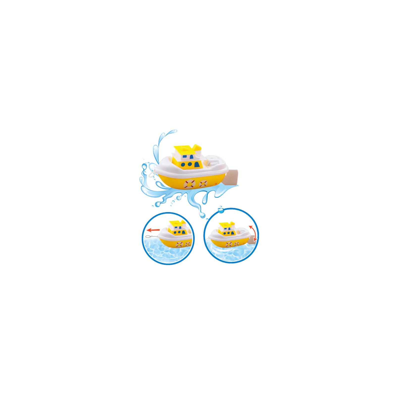 Игрушка для ванной BeBeLino Кораблик-путешественник желто-белый (57080-1) изображение 2