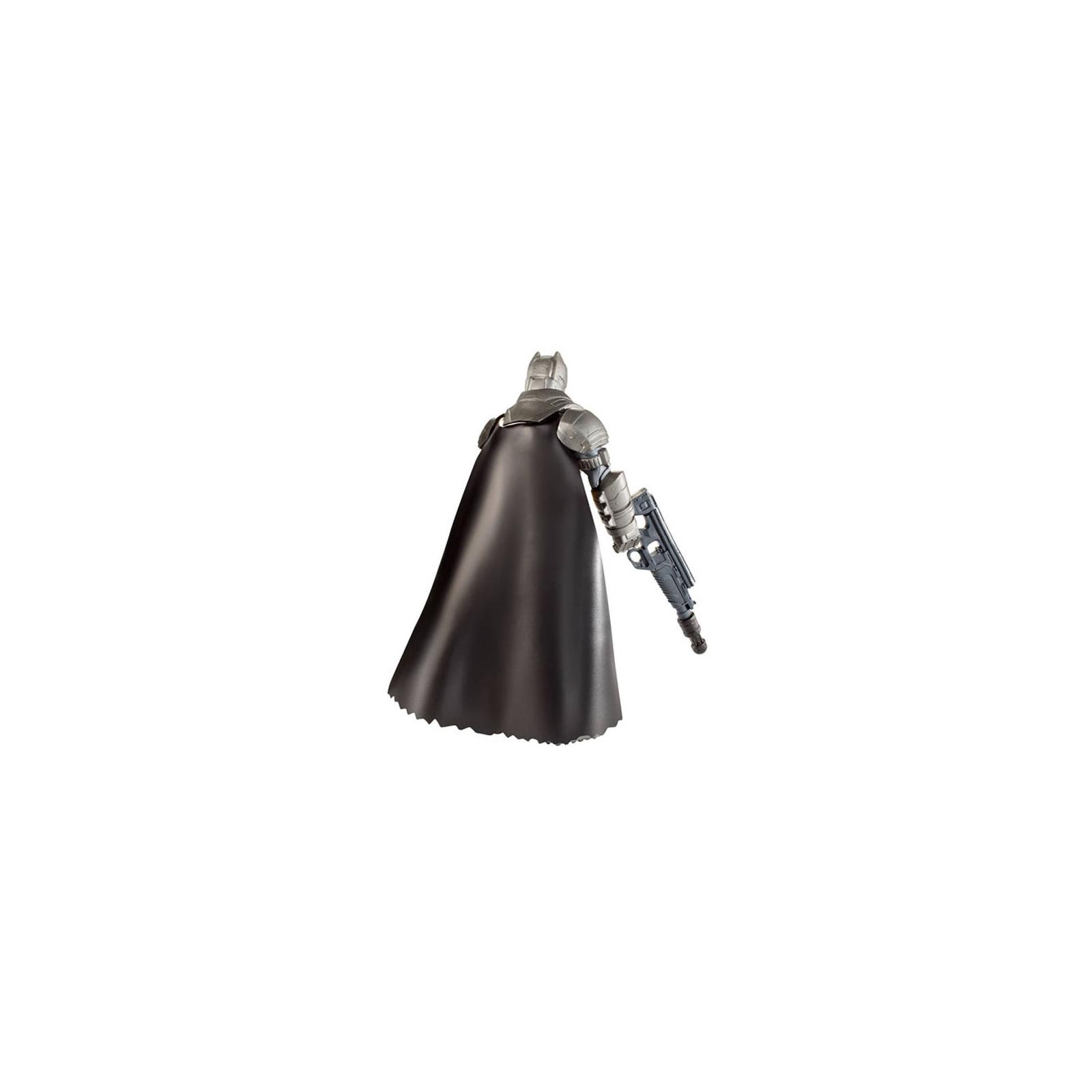 Фигурка Mattel Batman вооруженный 15 см Бэтмен против Супермена (DJG32) изображение 4