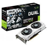 Видеокарта ASUS GeForce GTX1070 8192Mb DUAL OC (DUAL-GTX1070-O8G)