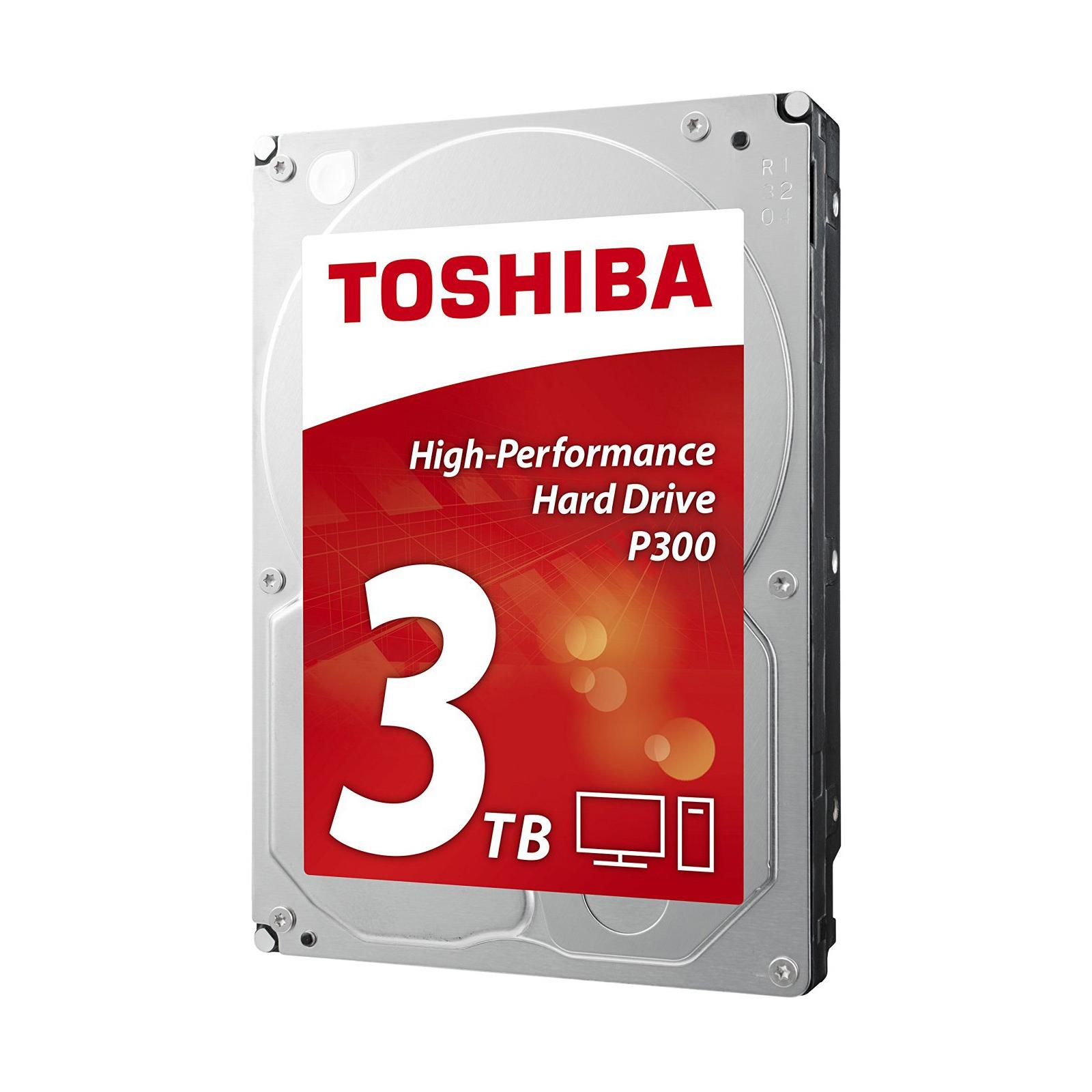 """Жорсткий диск 3.5"""" 1TB TOSHIBA (HDWD110UZSVA) зображення 2"""