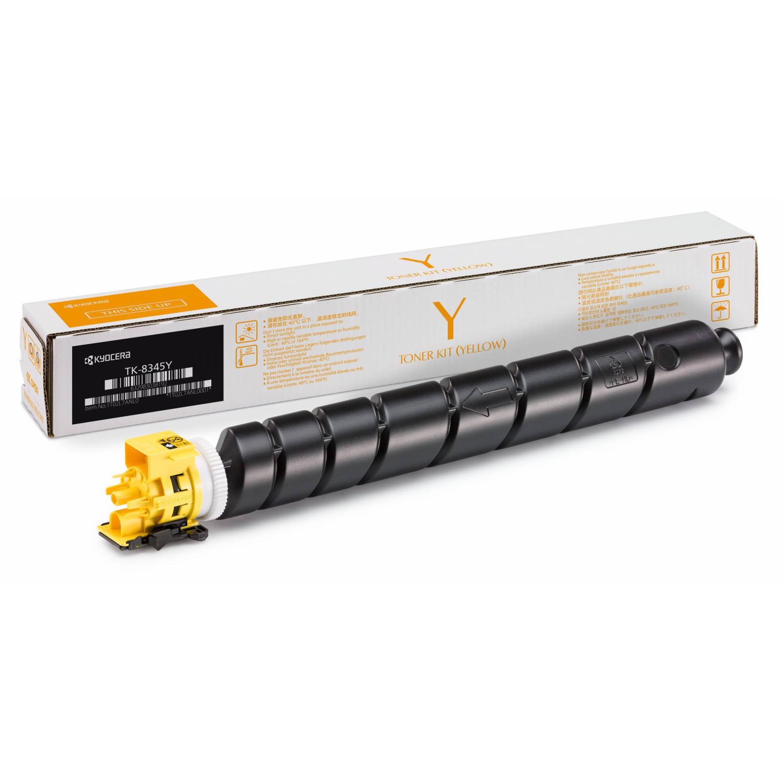 Тонер-картридж Kyocera TK-8345Y yellow (1T02L7ANL0/1)