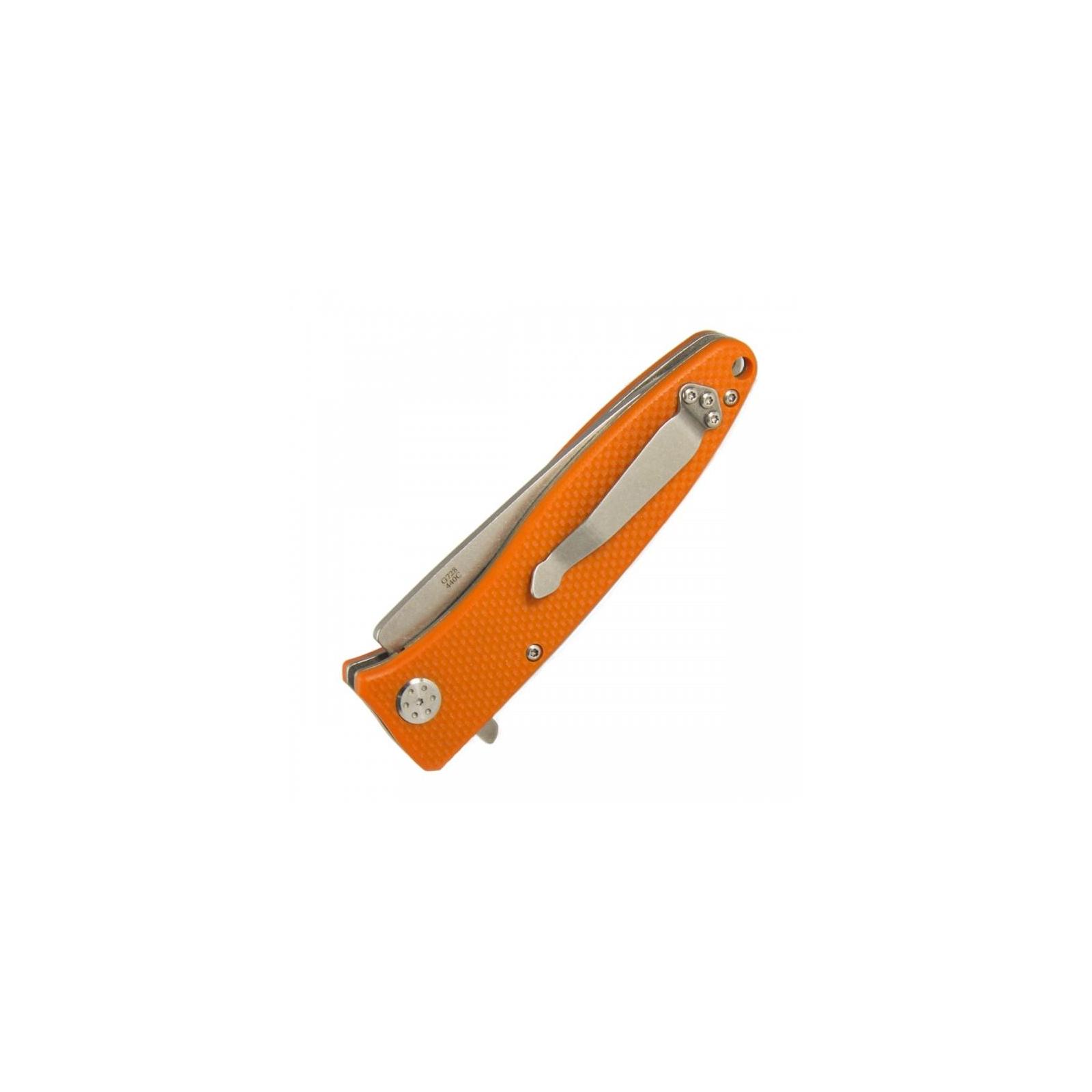 Нож Ganzo G728-OR, оранжевый (G728-OR) изображение 4