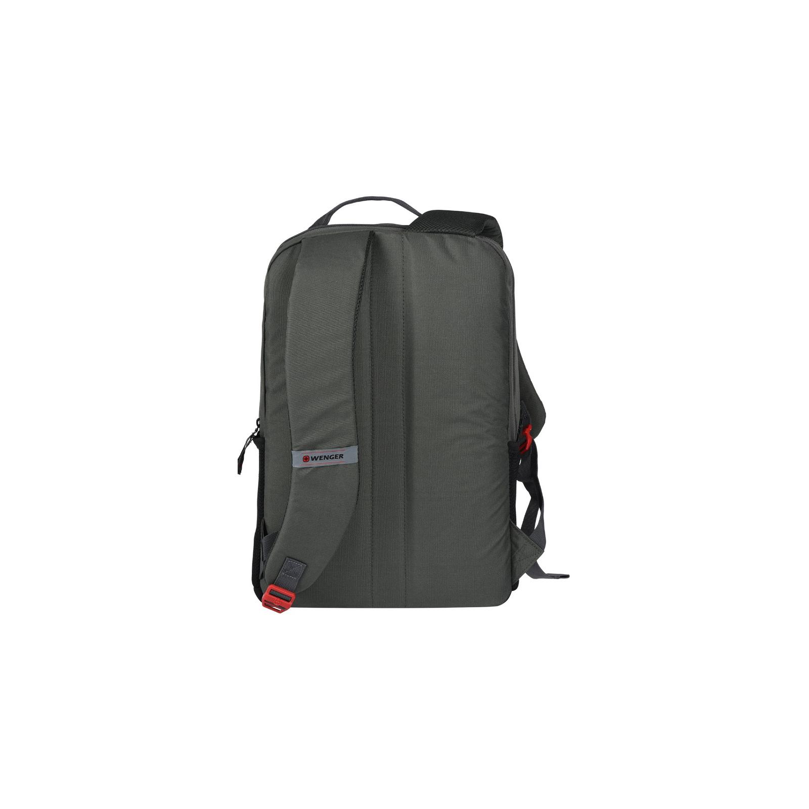 """Рюкзак для ноутбука Wenger 16"""" Ero Black/Gray (604430) изображение 2"""