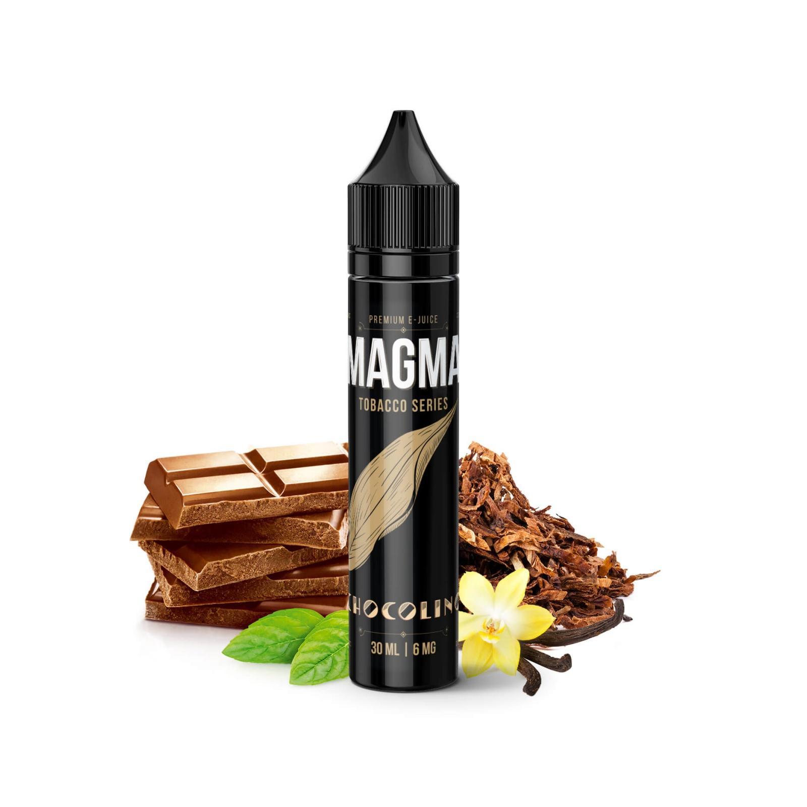 "Жидкость для электронных сигарет Magma ""Chocolino"" Tobacco Series 6 мг/мл 30 ml (MGM-CH-60)"