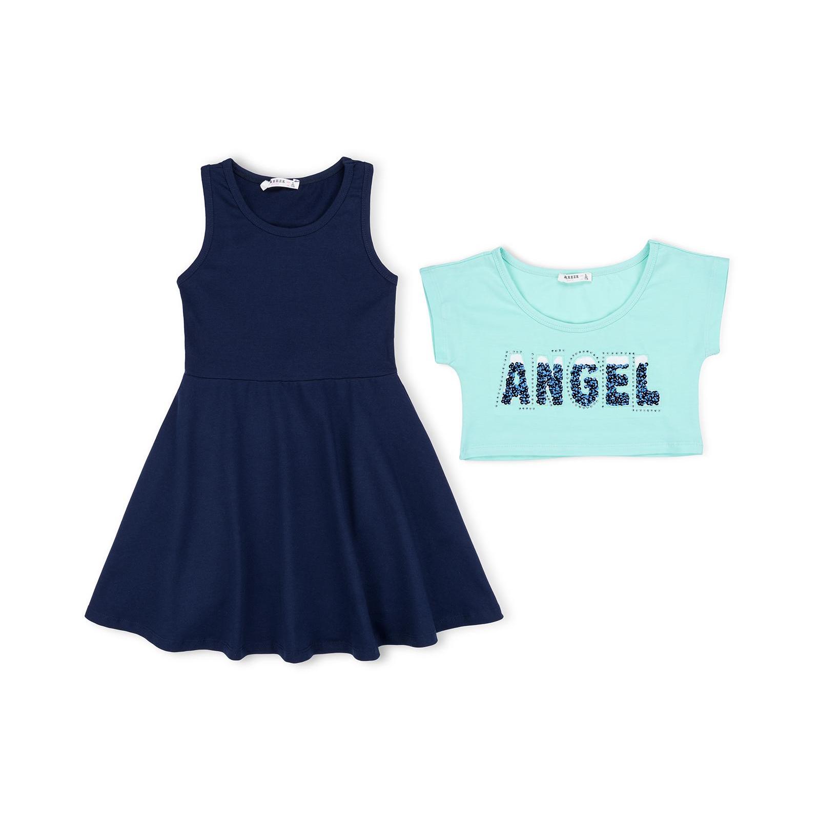 """Платье Breeze с топом """"ANGEL"""" (10254-152G-pink)"""